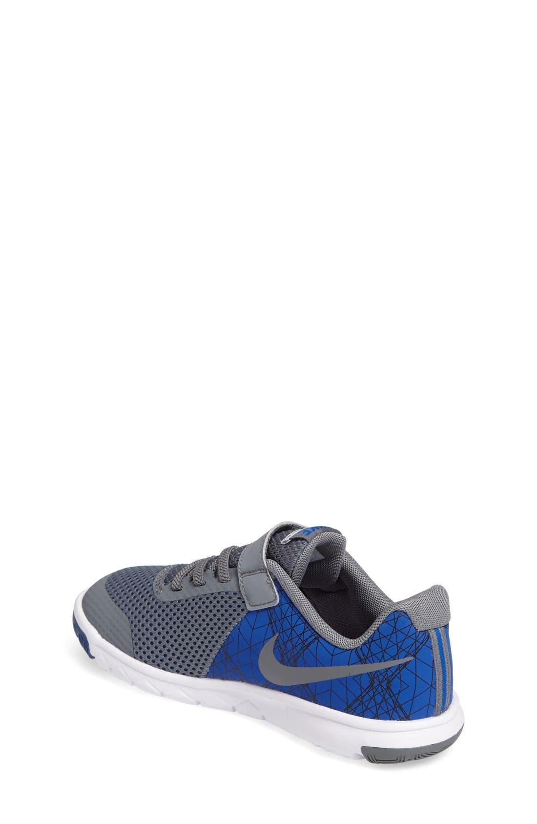 Alternate Image 2  - Nike 'Flex Experience 5 Print' Running Shoe (Toddler & Little Kid)