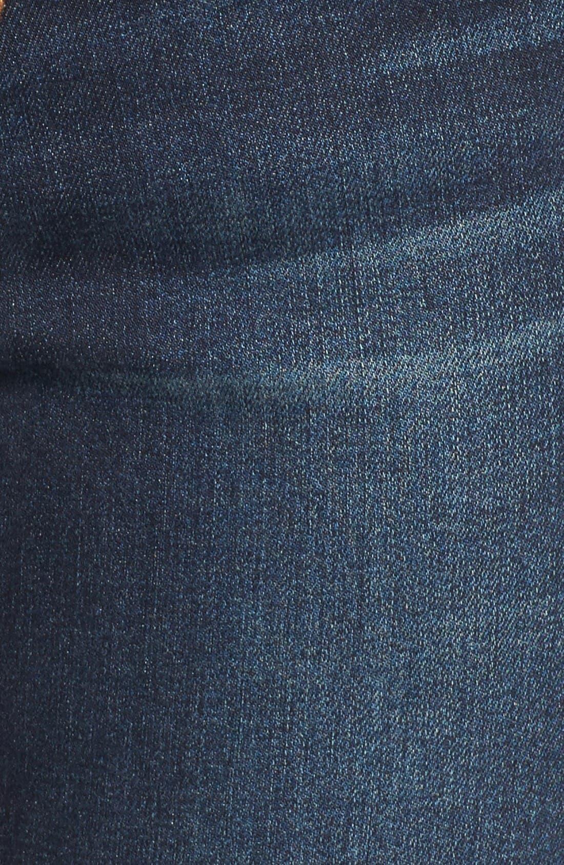 Alternate Image 5  - Articles of Society Mya Skinny Jeans (Waverly)