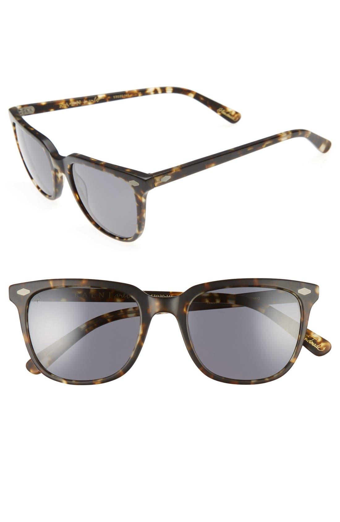 'Arlo' 53mm Sunglasses,                         Main,                         color, Matte Brindle