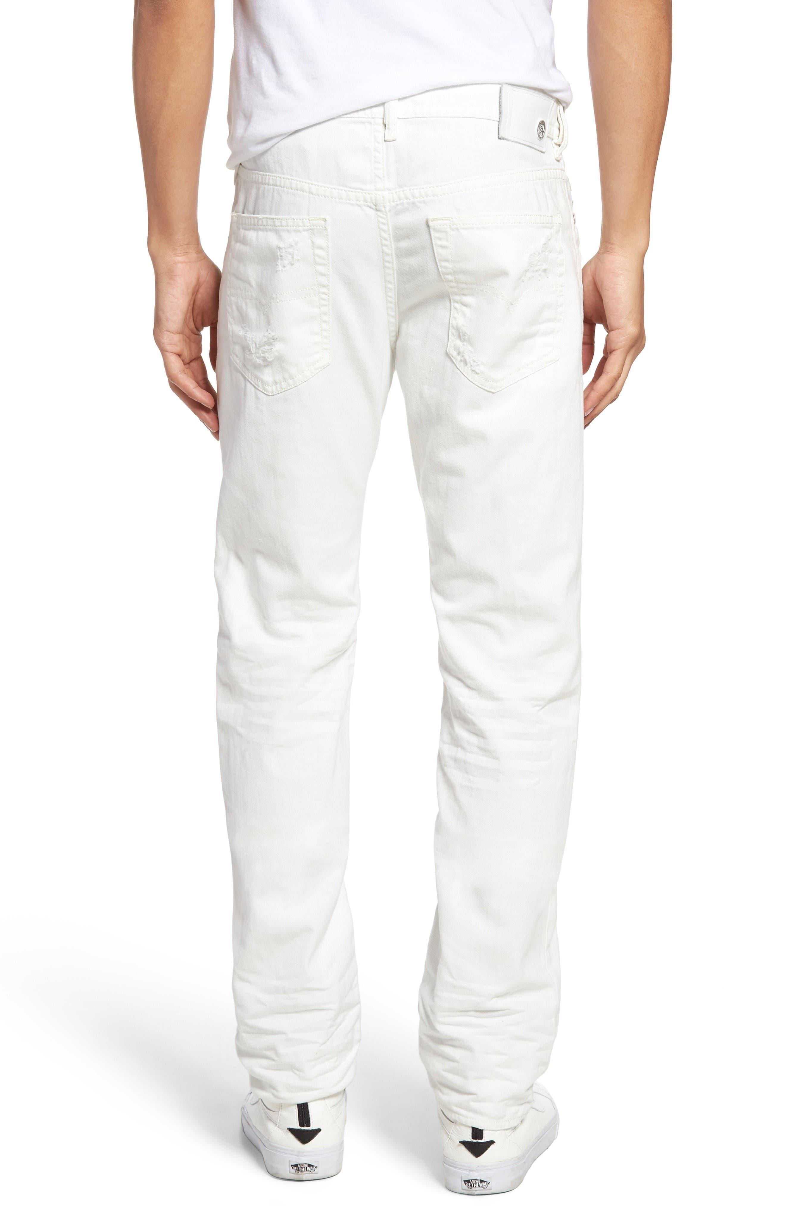 Alternate Image 2  - DIESEL® Buster Slim Straight Leg Jeans (680K)