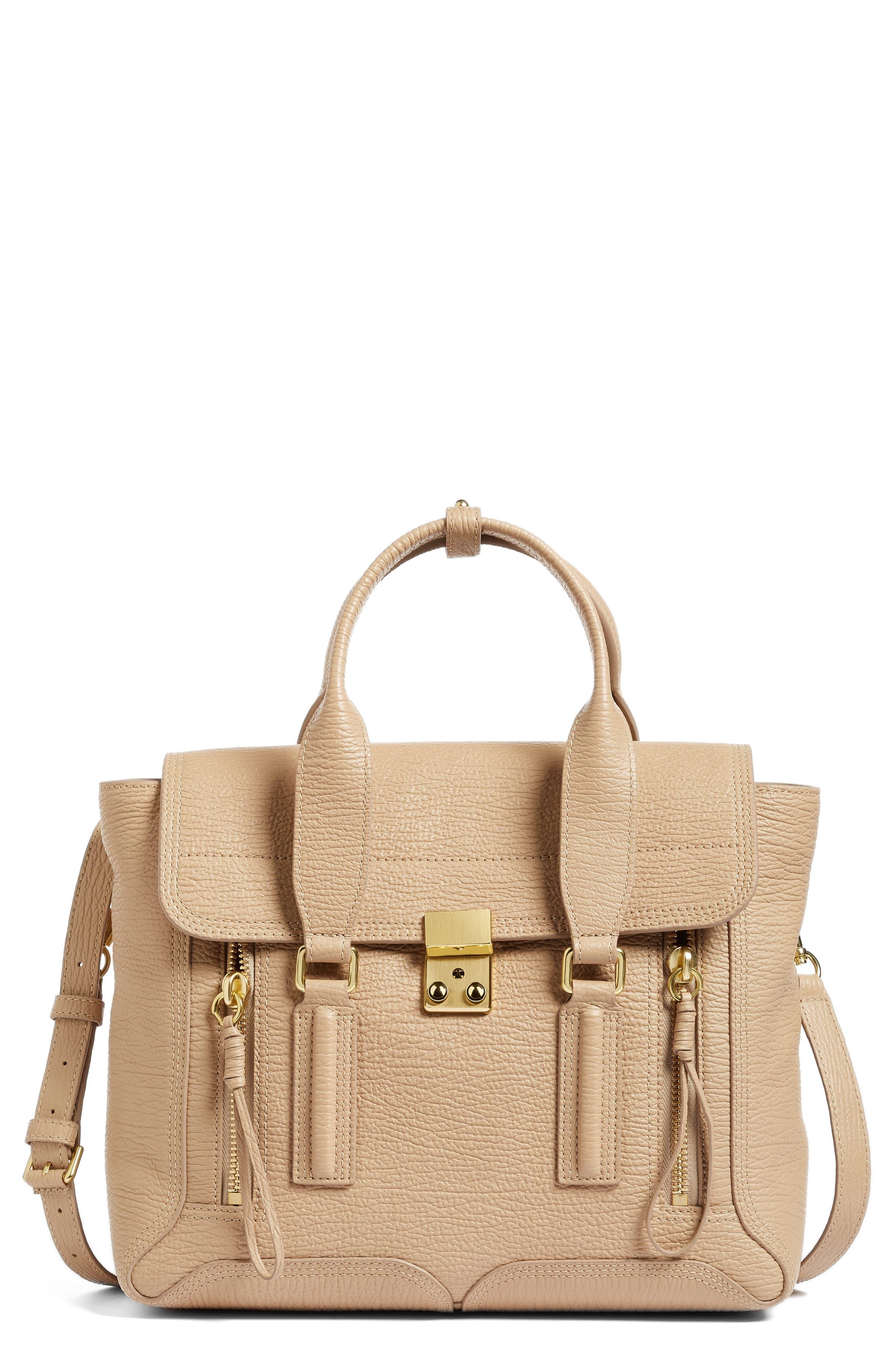 Alternate Image 1 Selected - 3.1 Phillip Lim Medium Pashli Leather Satchel