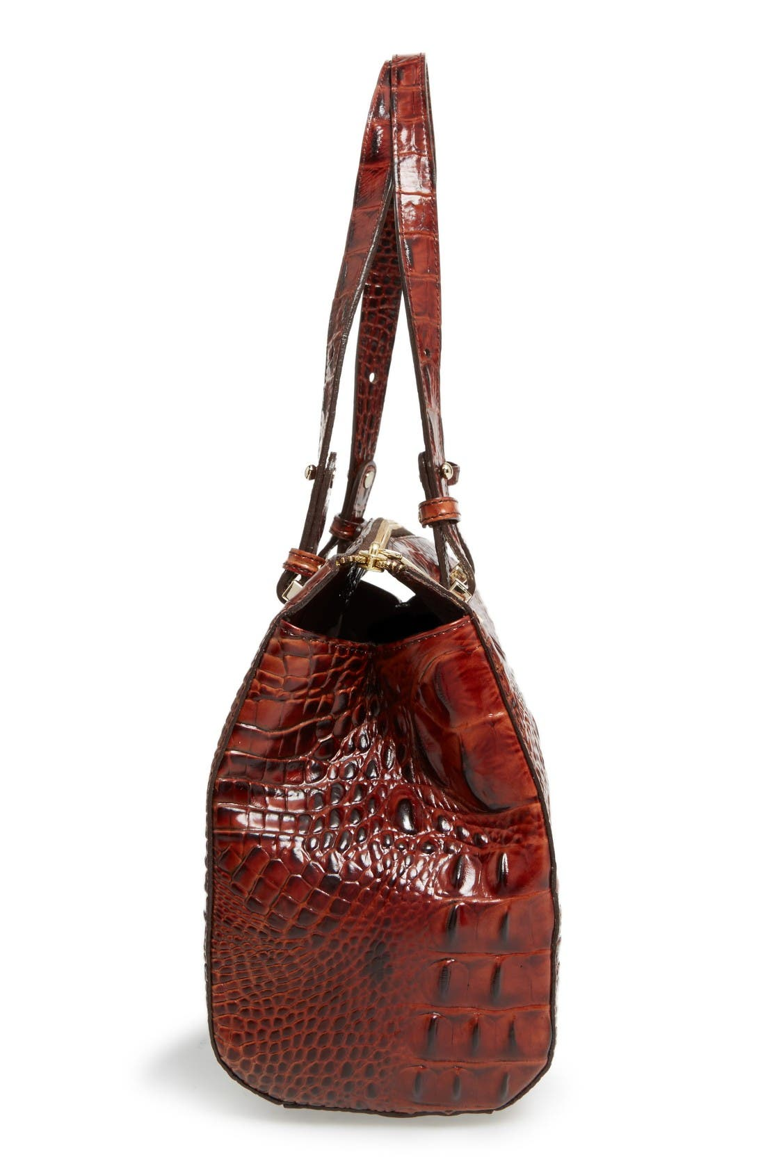 Alternate Image 4  - Brahmin Small Alice Melbourne Leather Satchel