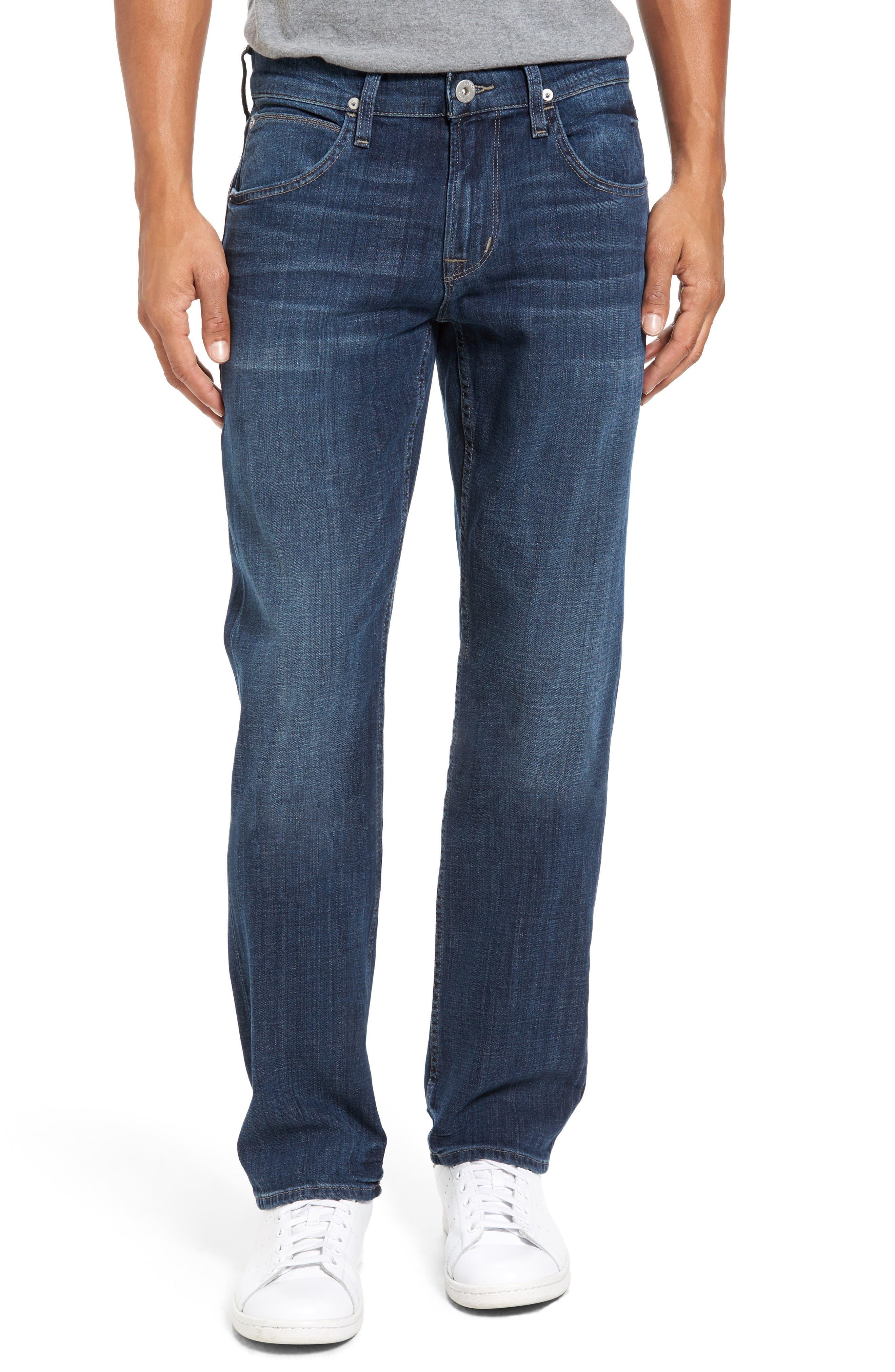 Main Image - Hudson Jeans Byron Slim Straight Leg Jean (Harris)