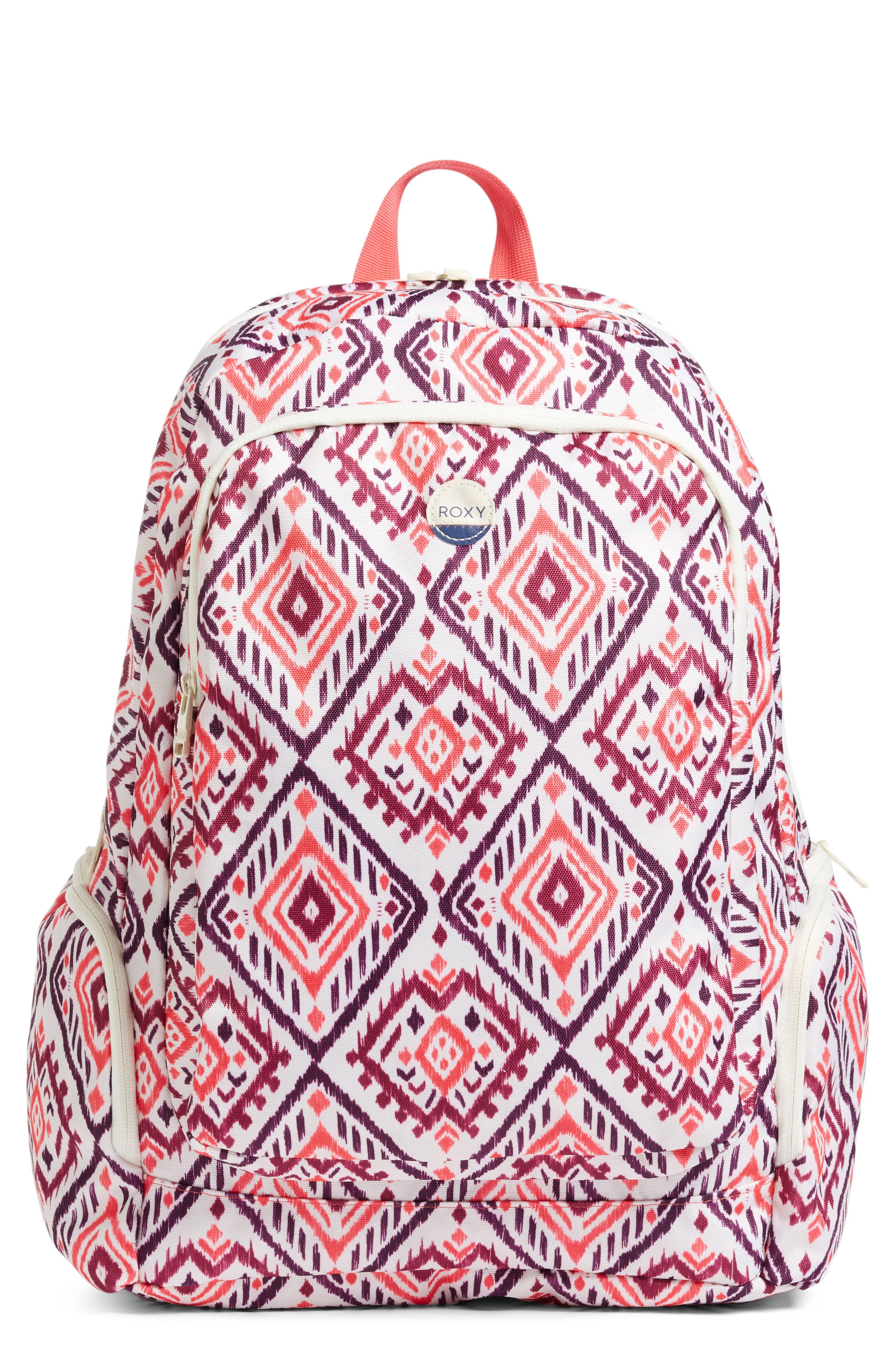 Alternate Image 1 Selected - Roxy Alright Print Backpack