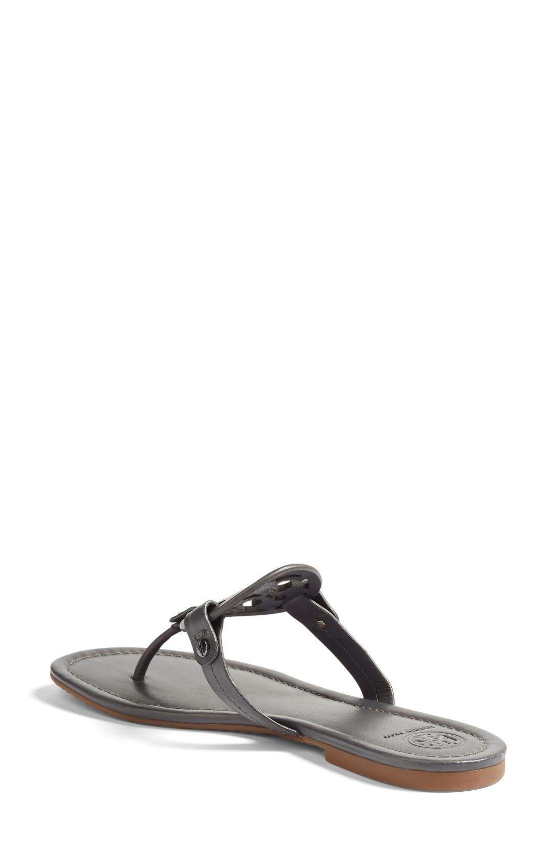 'Miller' Flip Flop,                             Alternate thumbnail 2, color,                             Dark Grey