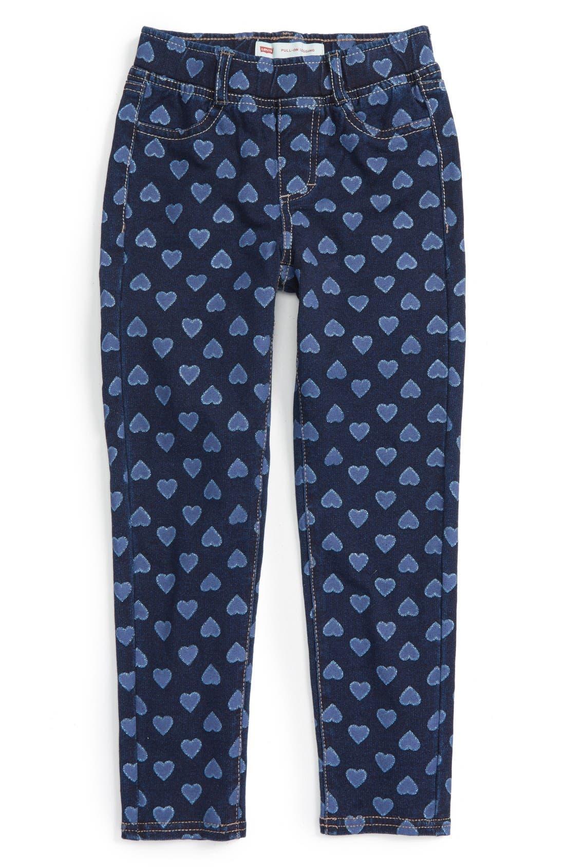 Haley May Leggings,                         Main,                         color, Baltic Blue