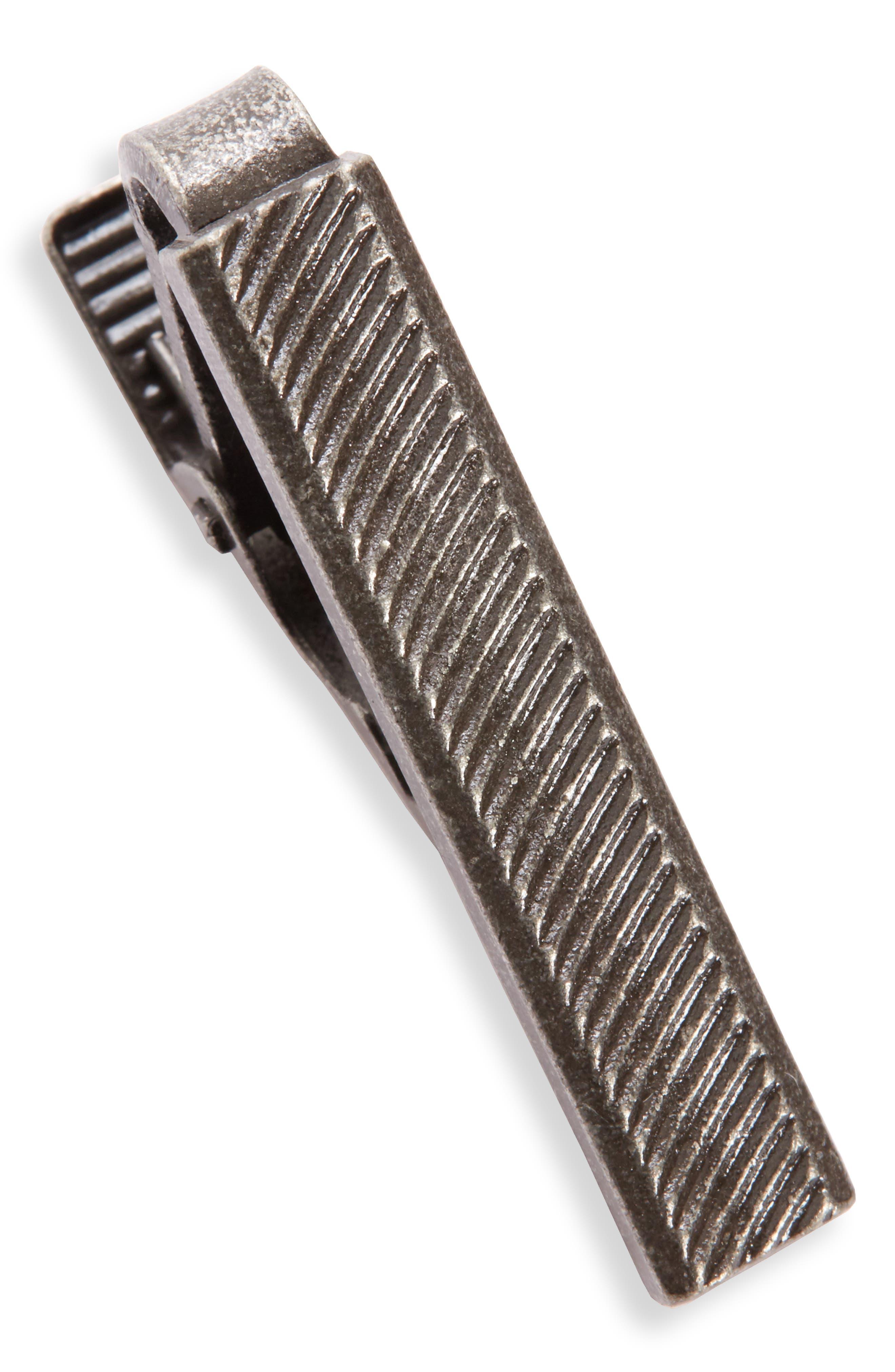 Tie Clip,                         Main,                         color, Silver