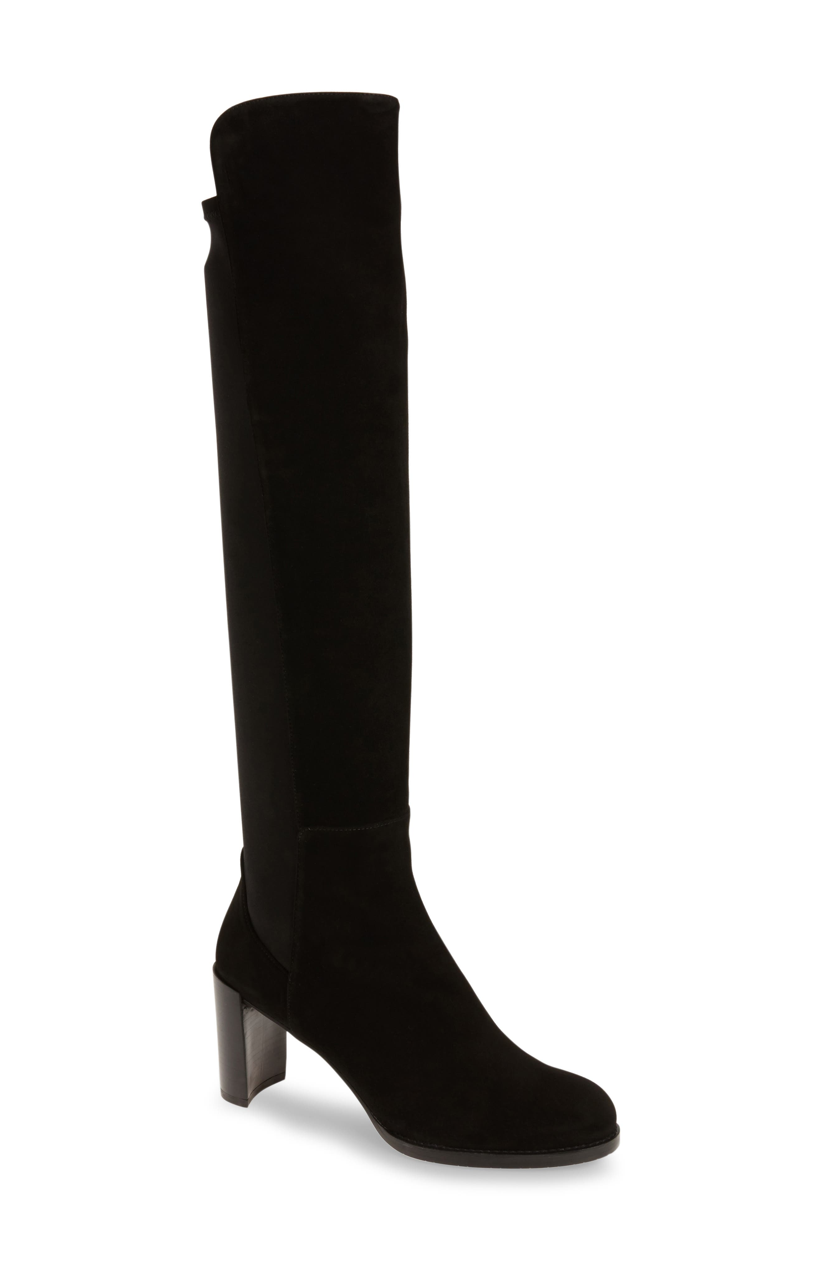 Alternate Image 1 Selected - Stuart Weitzman 'Soho' Tall Elastic Back Boot (Women) (Nordstrom Exclusive)
