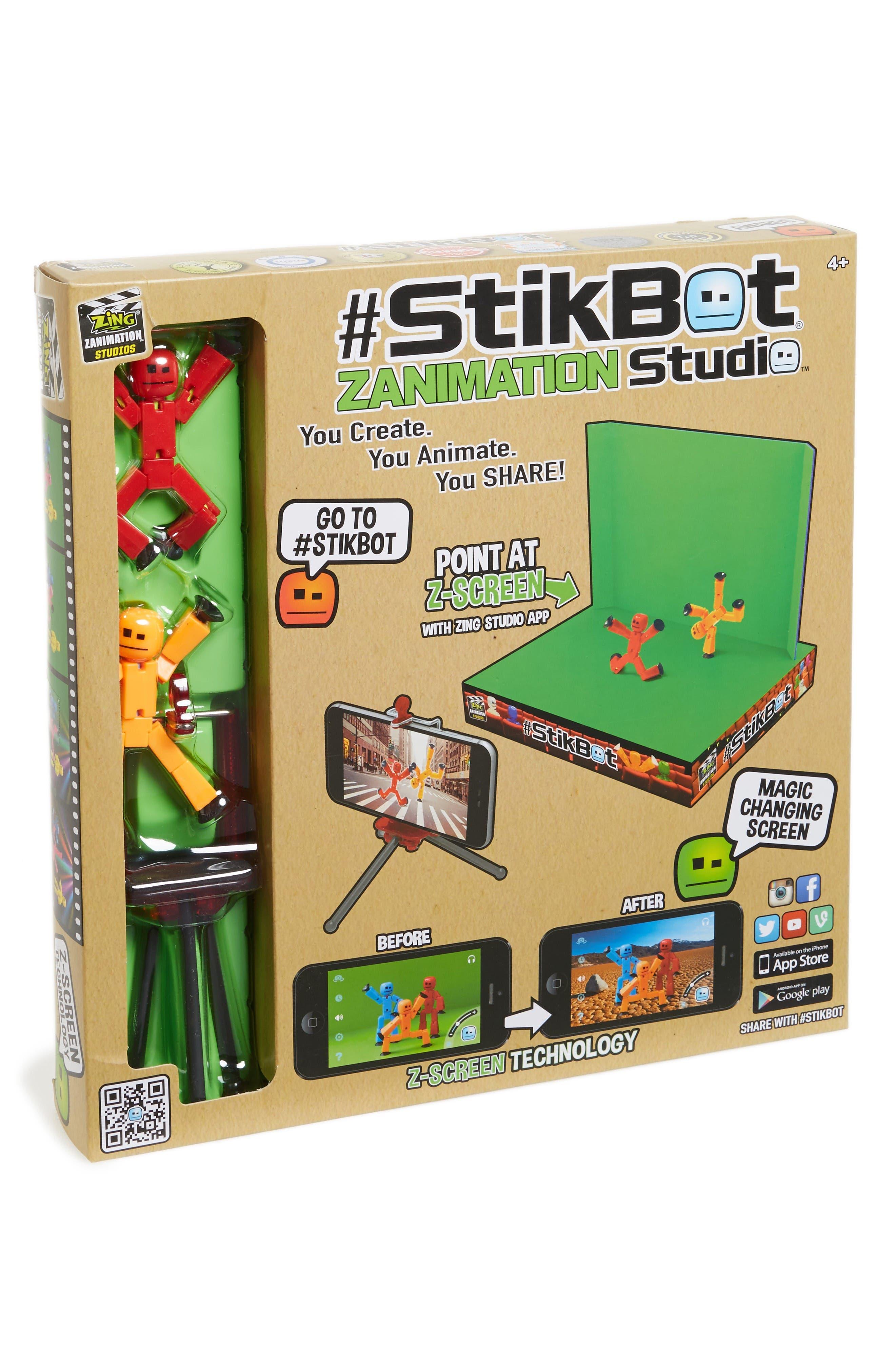 Zing StikBot Pro Zanimation Studio