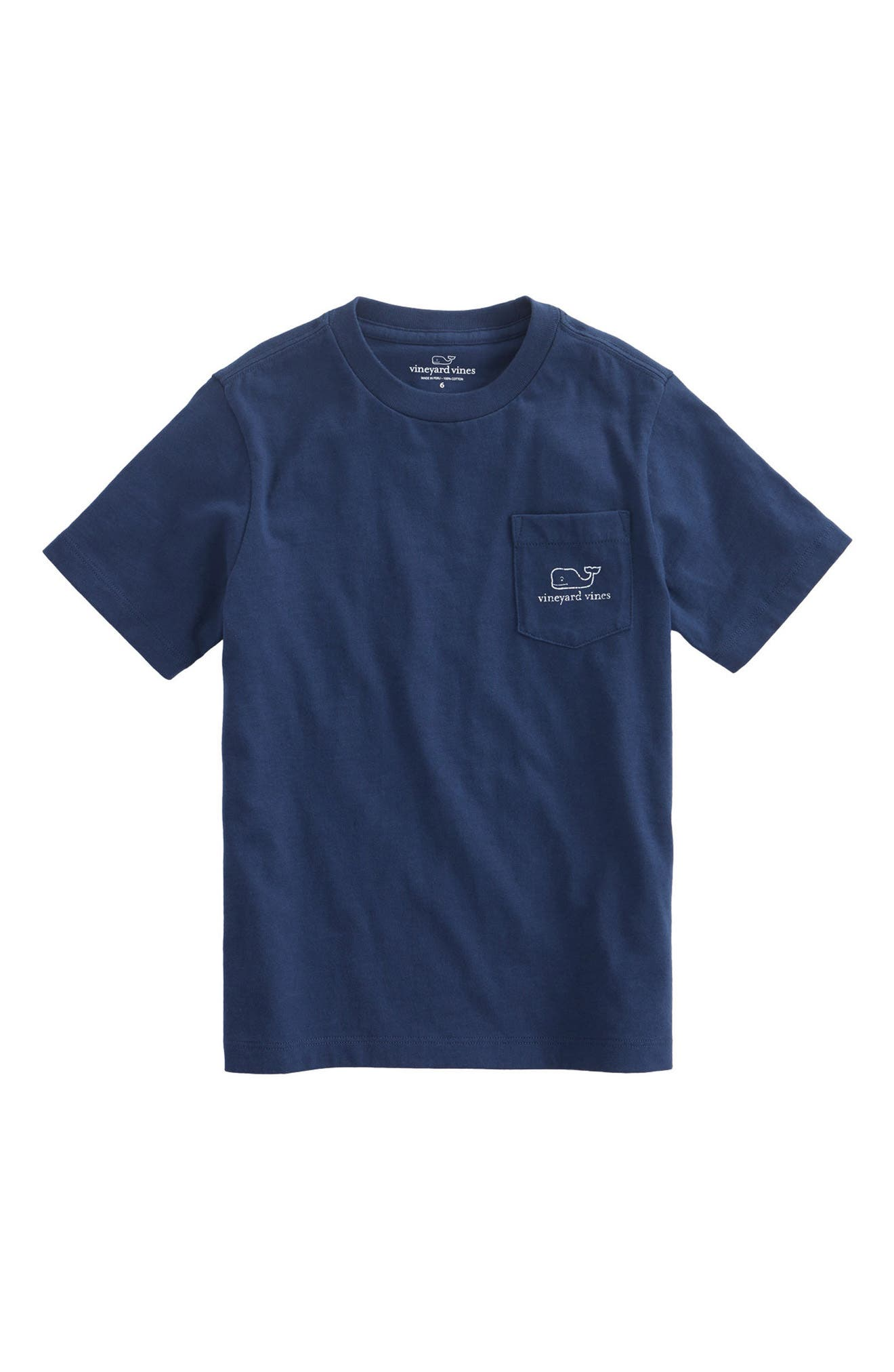 Alternate Image 1 Selected - vineyard vines Whale T-Shirt (Big Boys)
