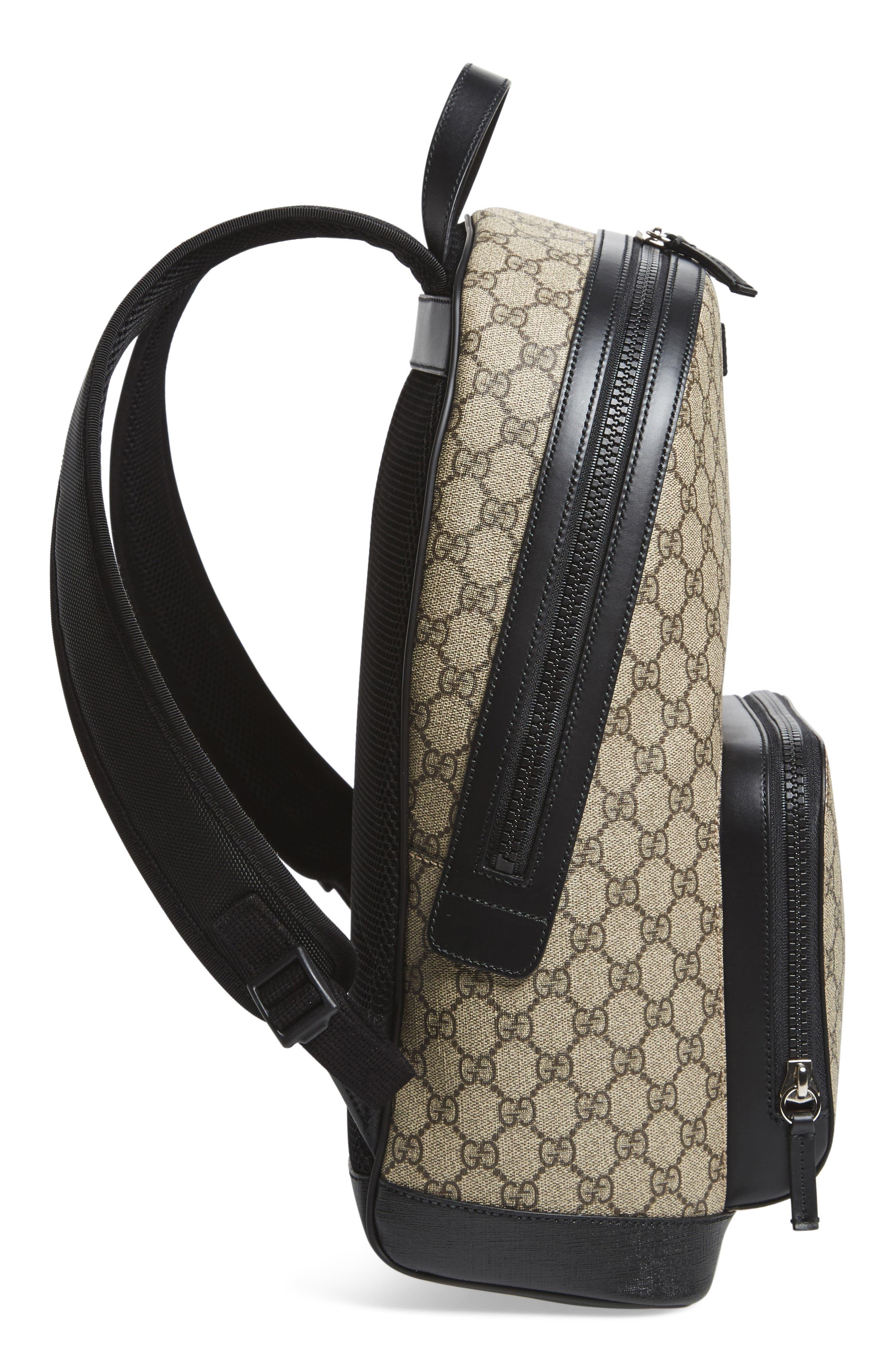 Alternate Image 5  - Gucci Eden Canvas Backpack