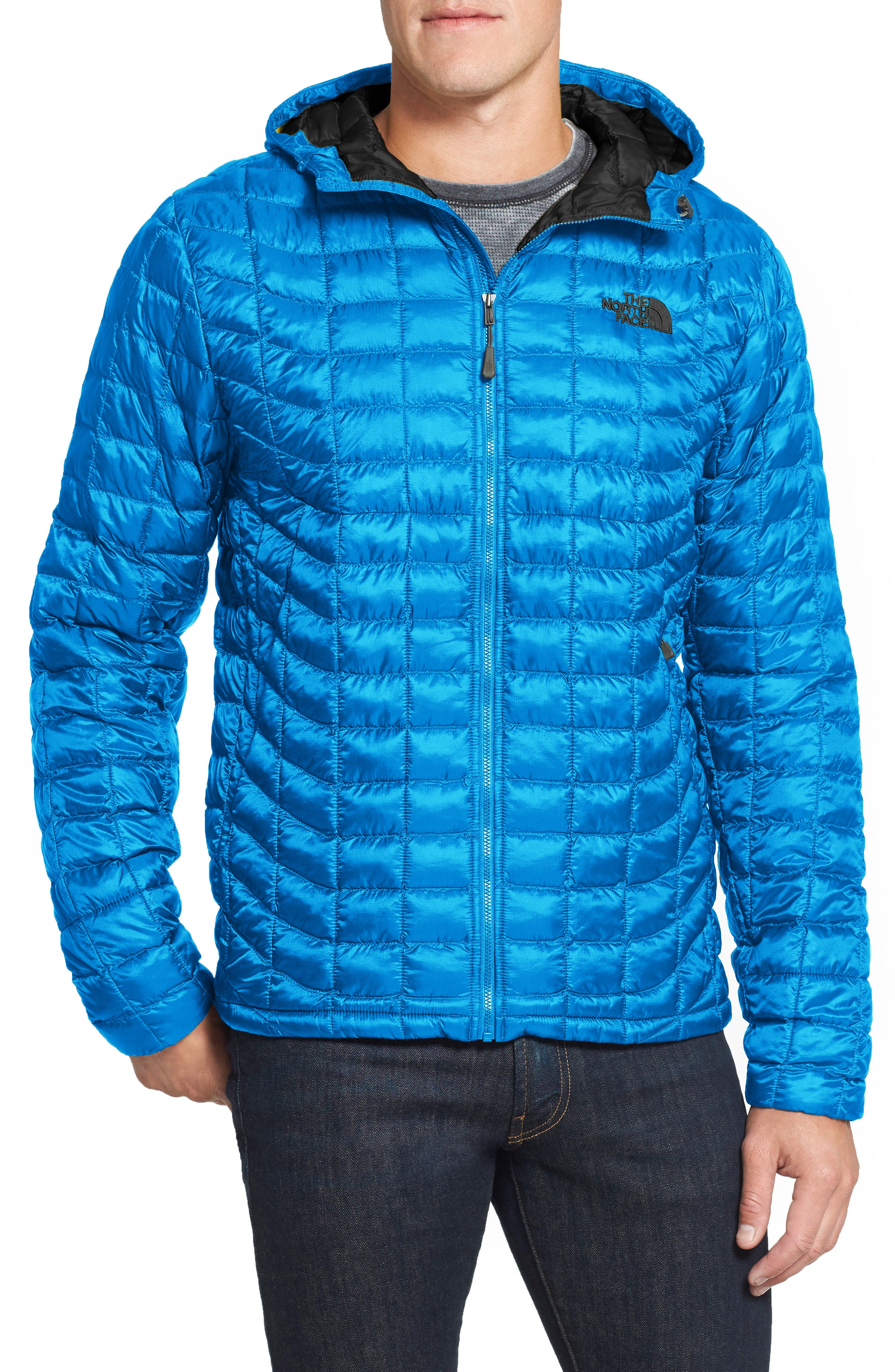'ThermoBall<sup>™</sup>' PrimaLoft<sup>®</sup> Hoodie Jacket,                         Main,                         color, Banff Blue