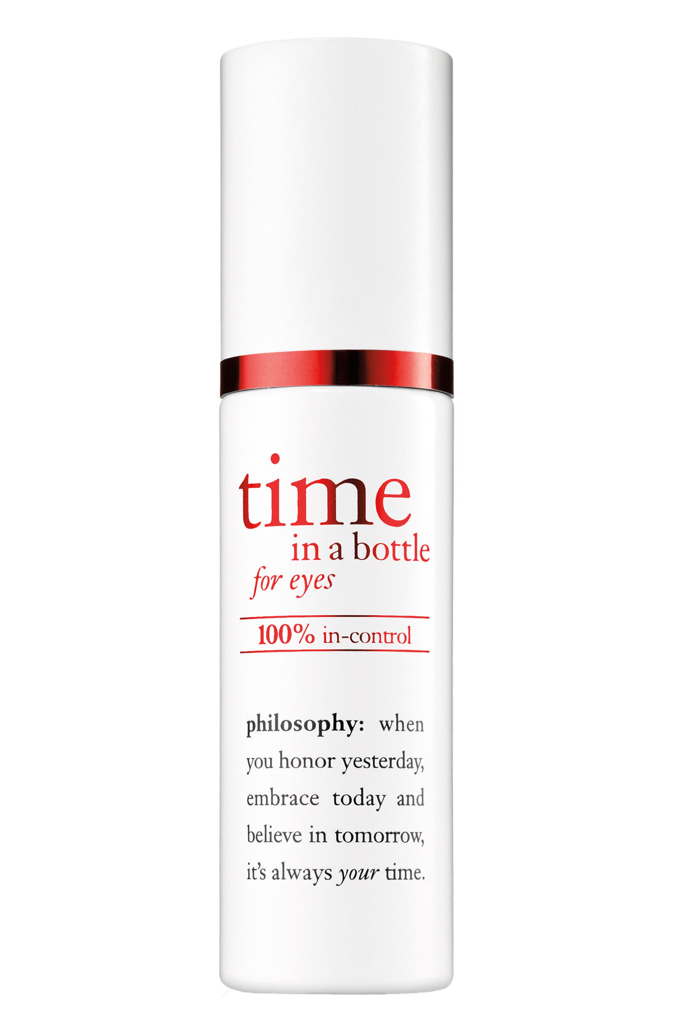 philosophy time in a bottle eye serum