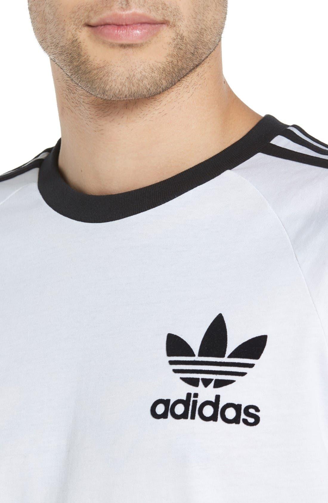 Alternate Image 4  - adidas Originals California T-Shirt