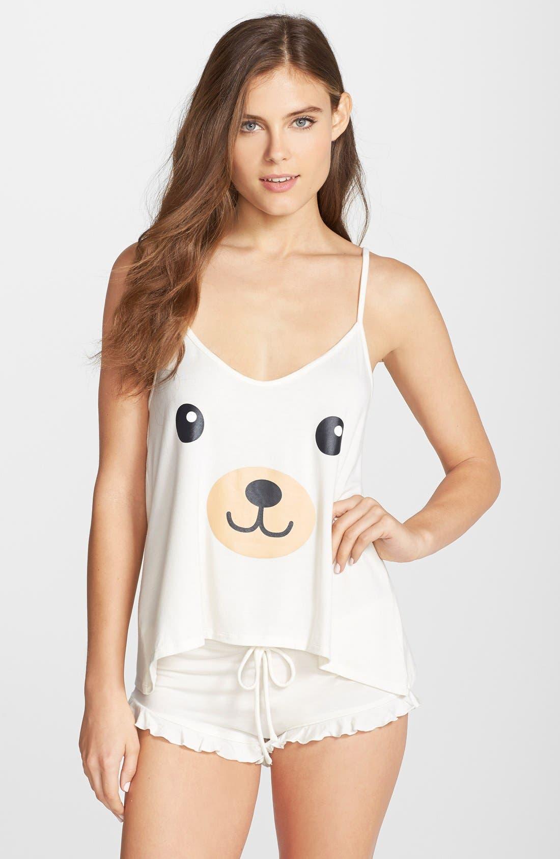 Main Image - Wildfox 'Be Mine' Camisole Pajamas