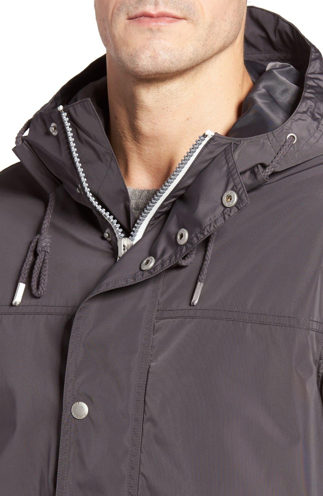 Alternate Image 4  - Cole Haan Packable Hooded Rain Jacket