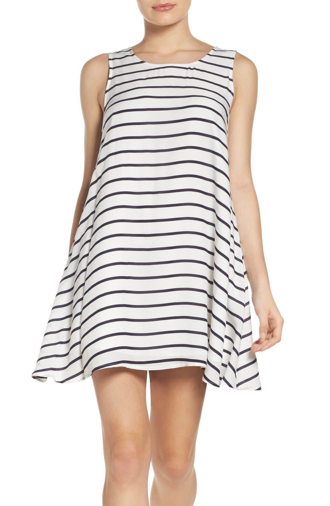 Alternate Image 1 Selected - BB Dakota Shaye Trapeze Dress