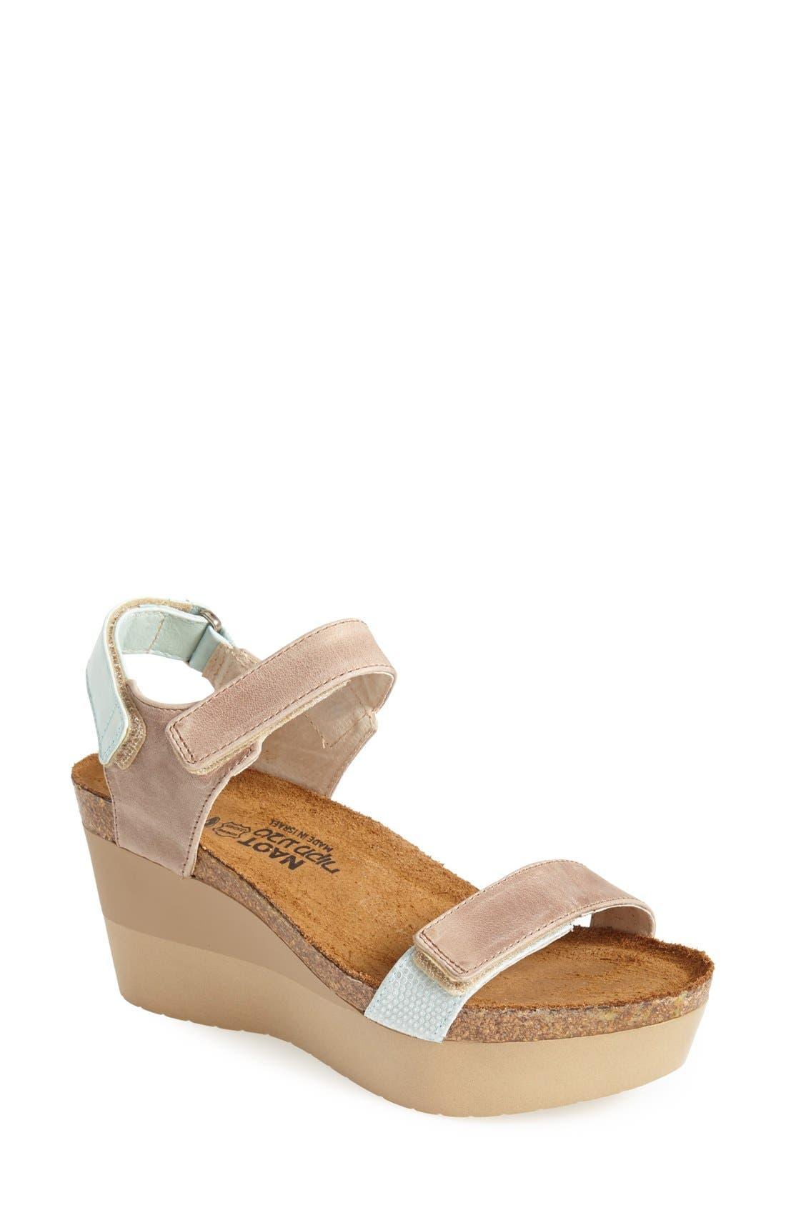 'Miracle' Sandal,                         Main,                         color, Beige