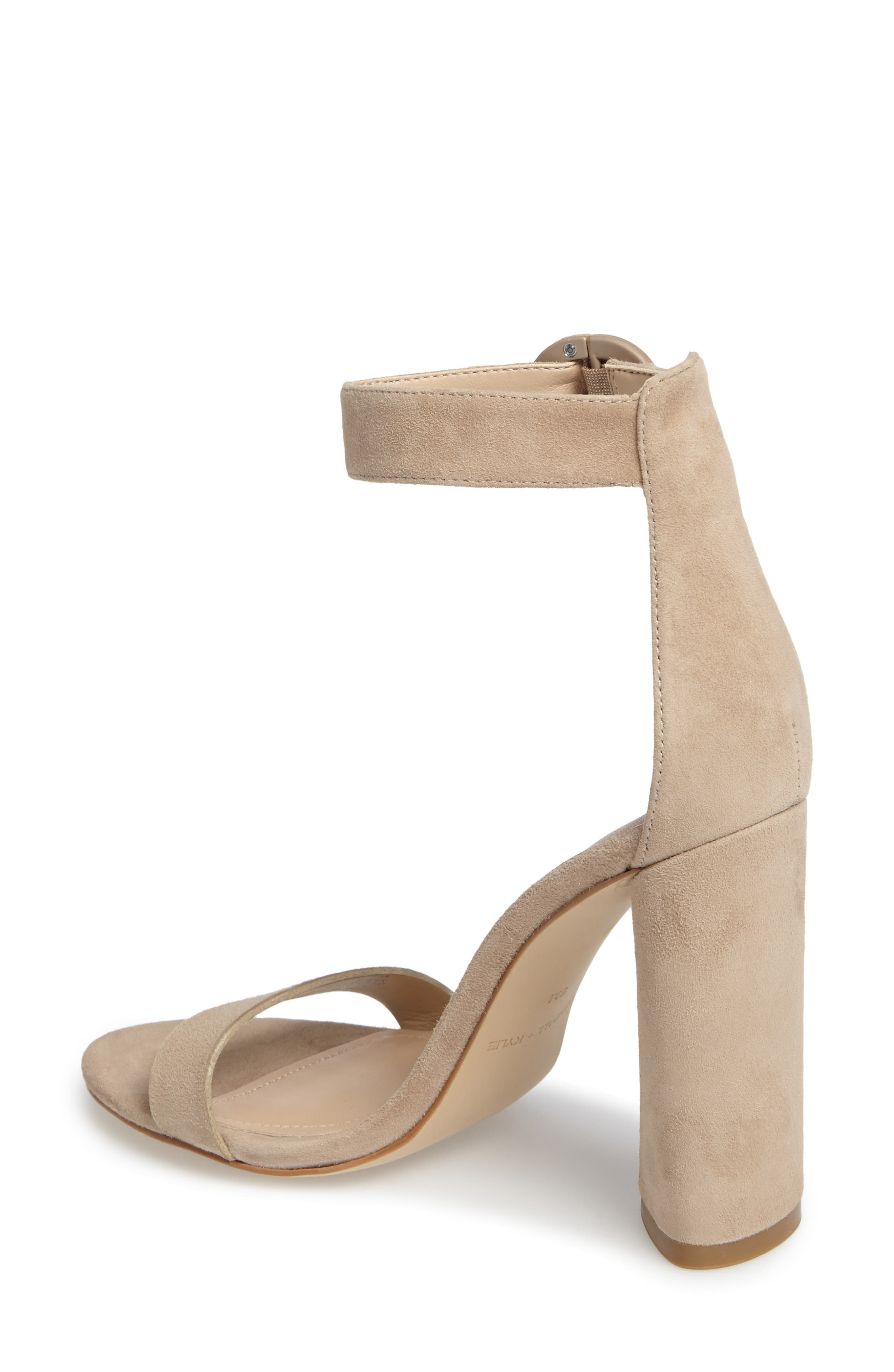 Giselle Strappy Sandal,                             Alternate thumbnail 2, color,                             Sughero Suede