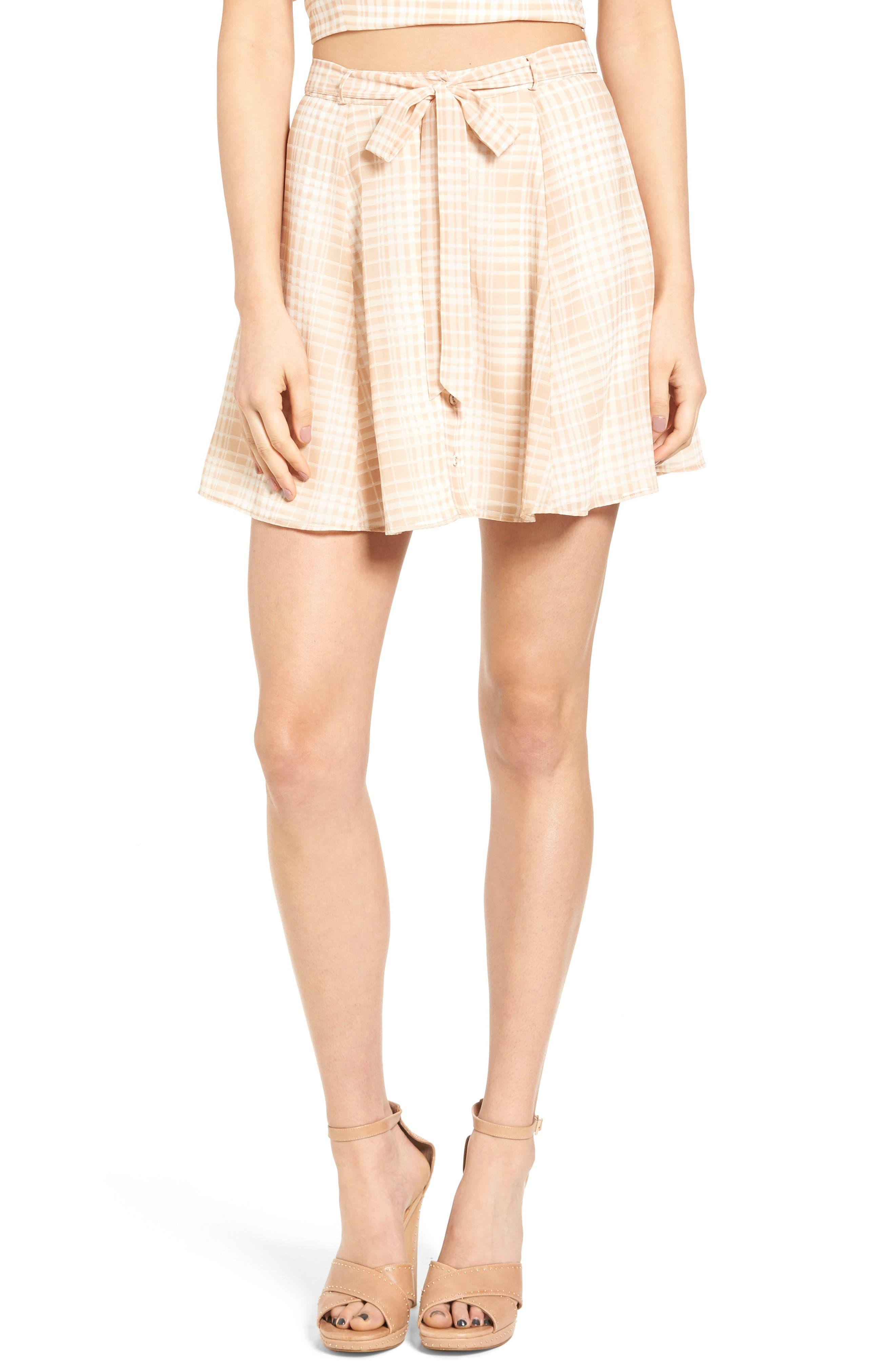 Dresden Skirt,                         Main,                         color, Tan