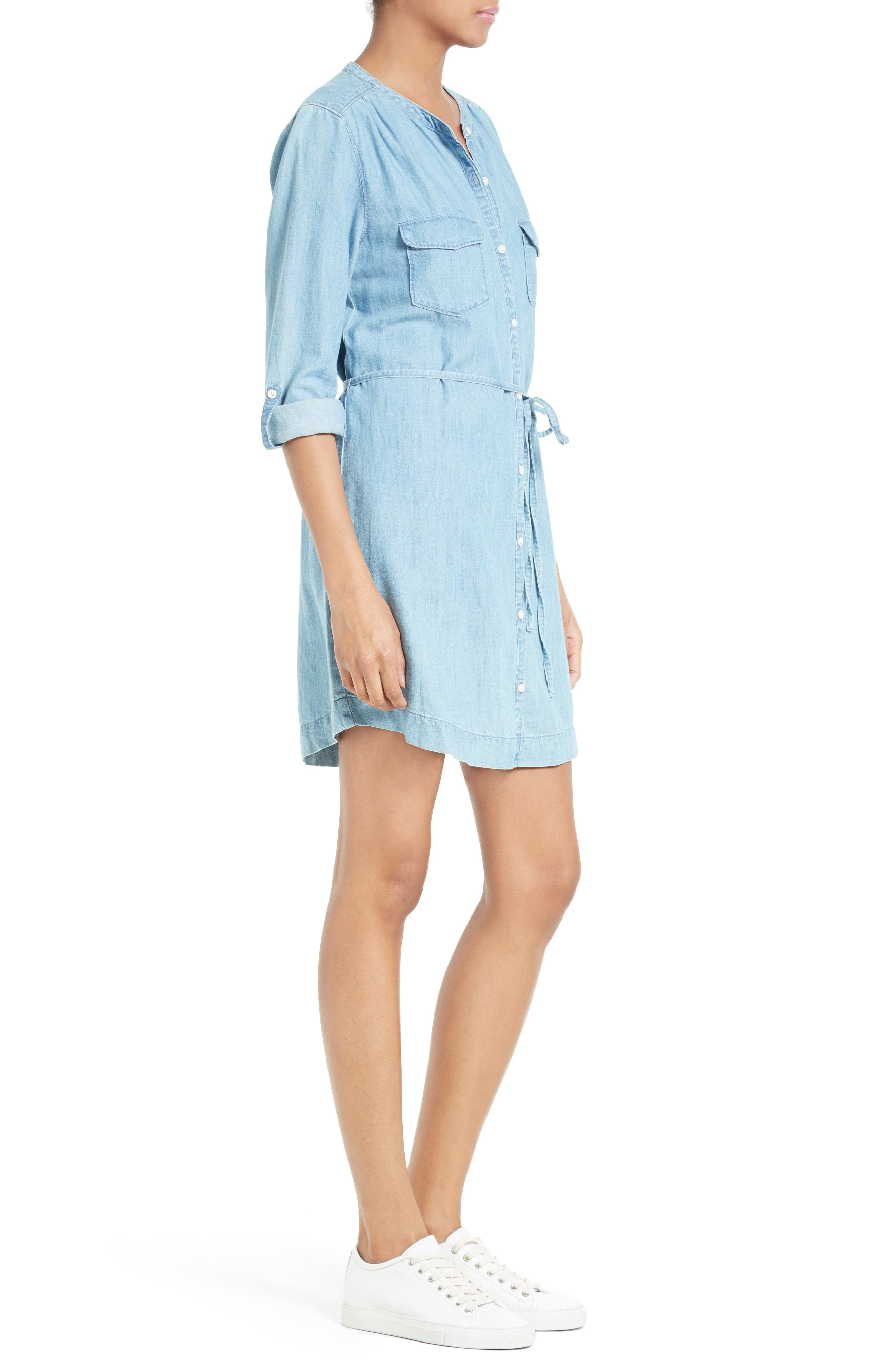 Alternate Image 3  - Soft Joie Milli Chambray Shirtdress