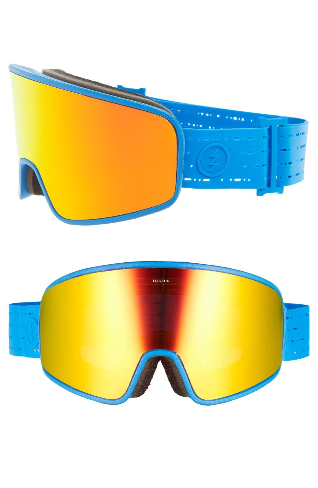 Electrolite 215mm Snow Goggles,                         Main,                         color, Royal Blue/ Brose/ Red Chrome