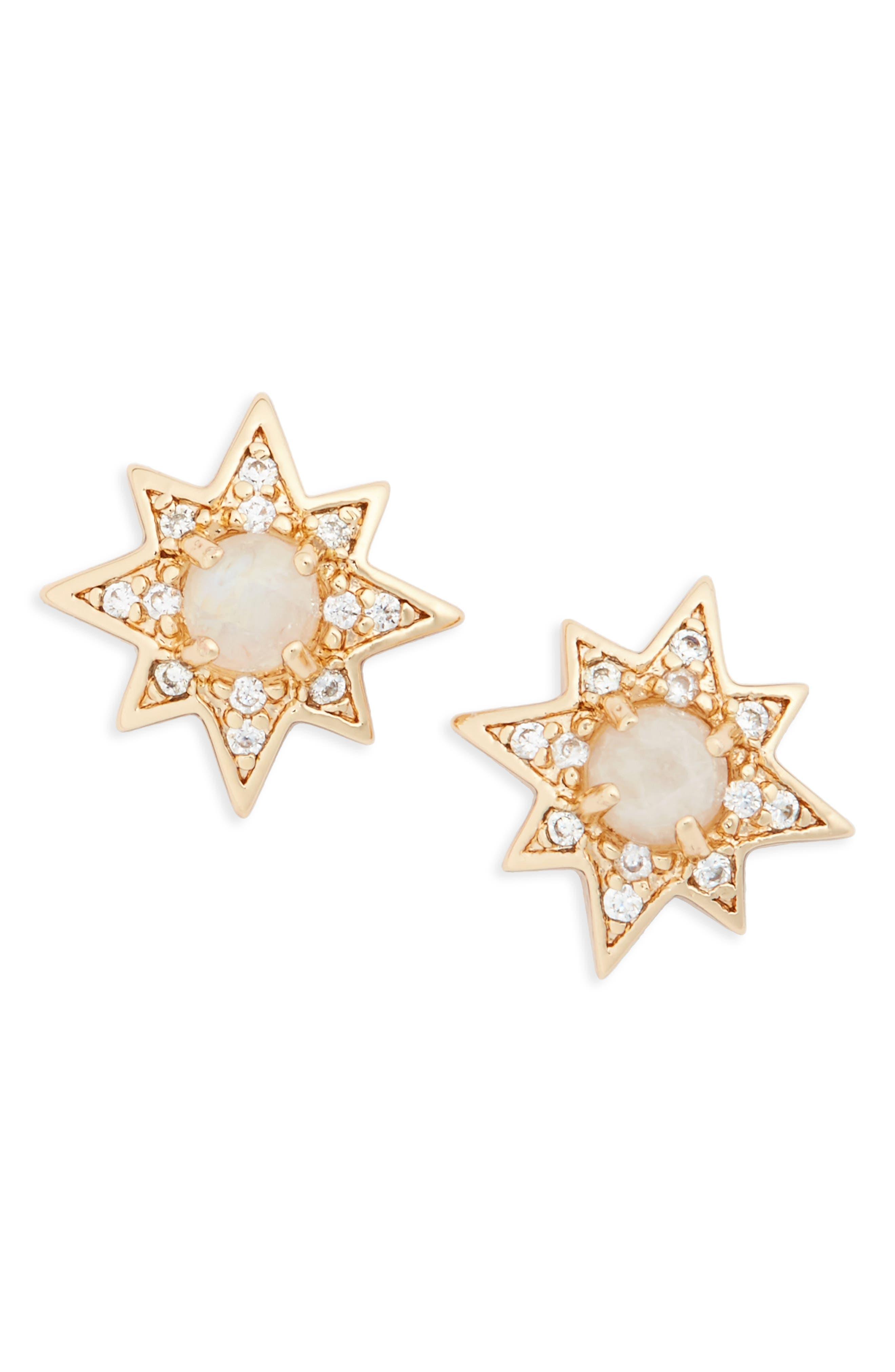 Melanie Auld Starburst Stud Earrings