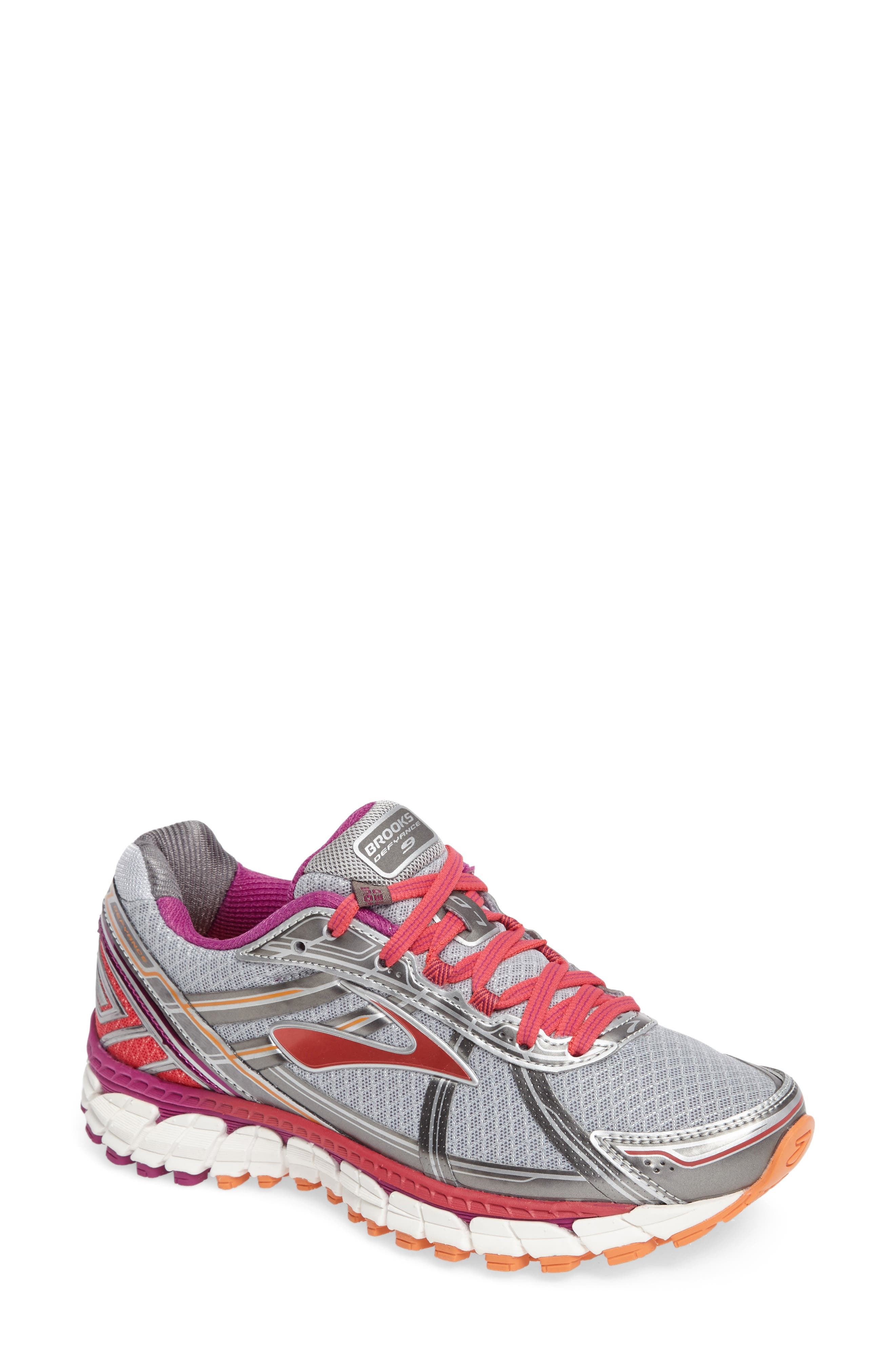 Alternate Image 1 Selected - Brooks Defyance 9 Running Shoe (Women)