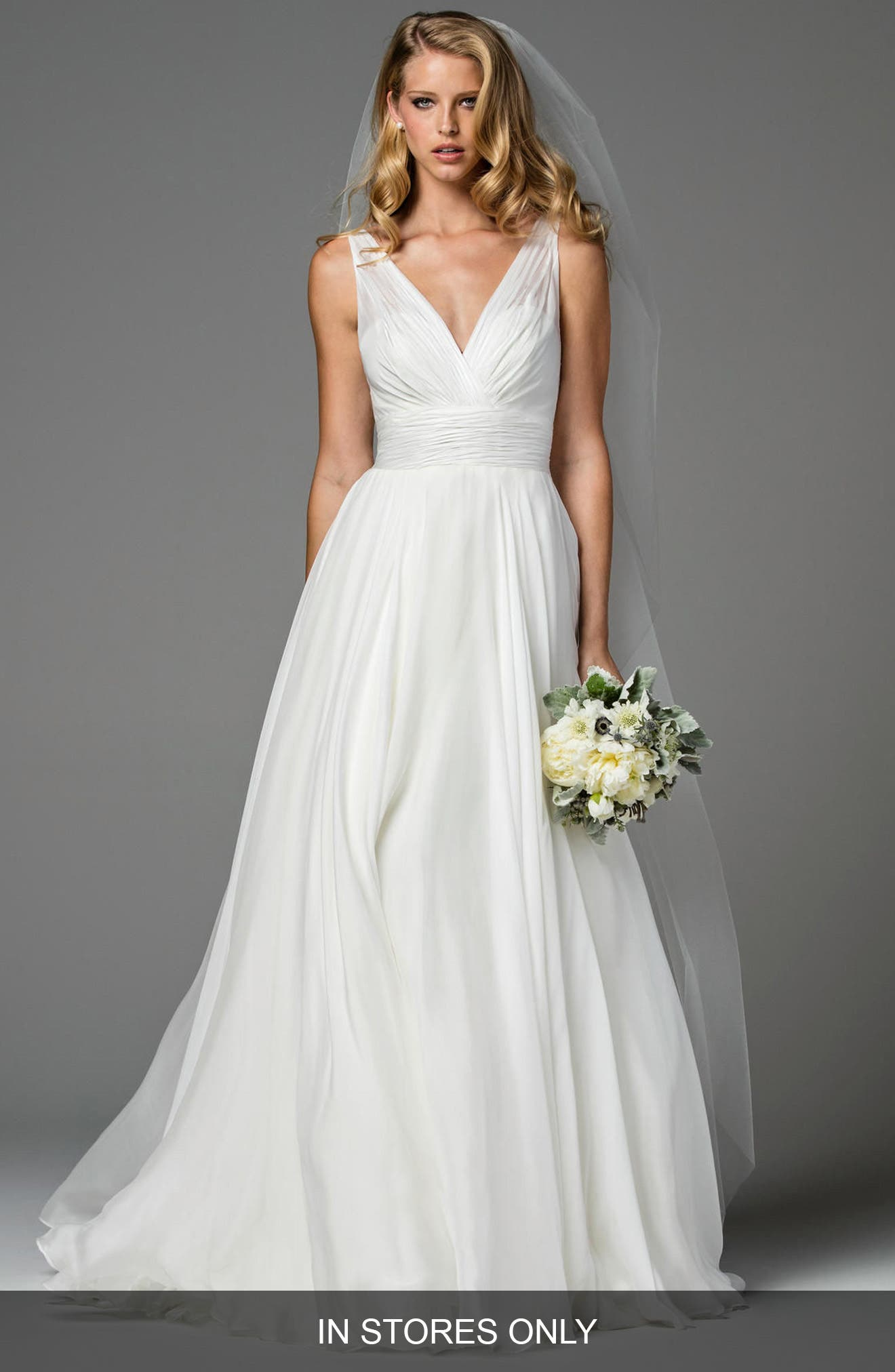 Women's Silk Wedding Dresses & Bridal Gowns | Nordstrom