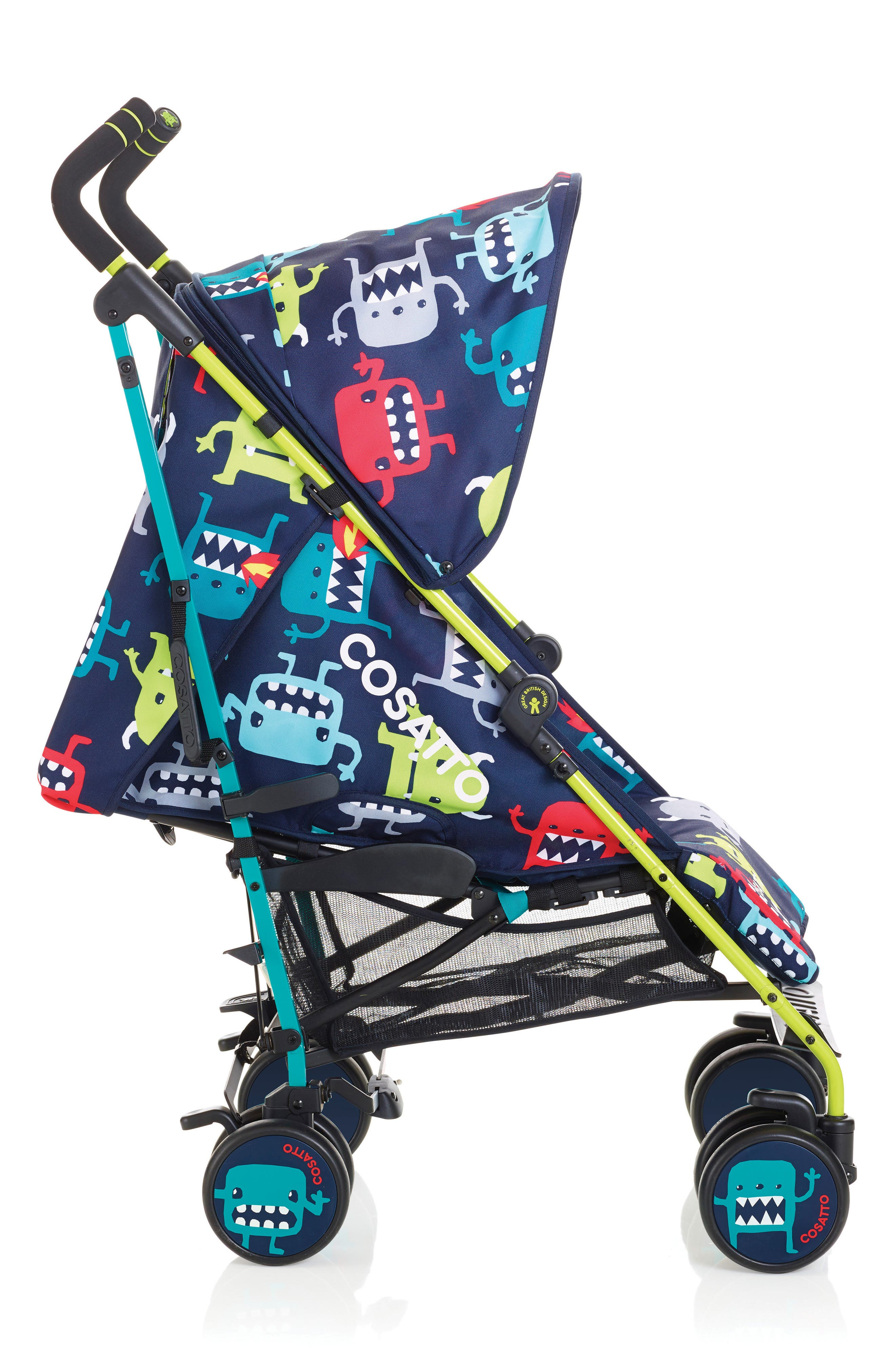 Supa Dupa Cuddle Monster Double Stroller,                         Main,                         color, Cuddle Monster
