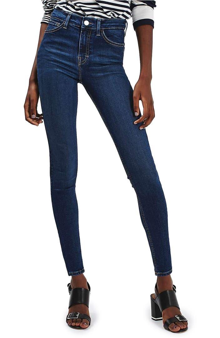 topshop jamie high waist ankle skinny jeans nordstrom. Black Bedroom Furniture Sets. Home Design Ideas