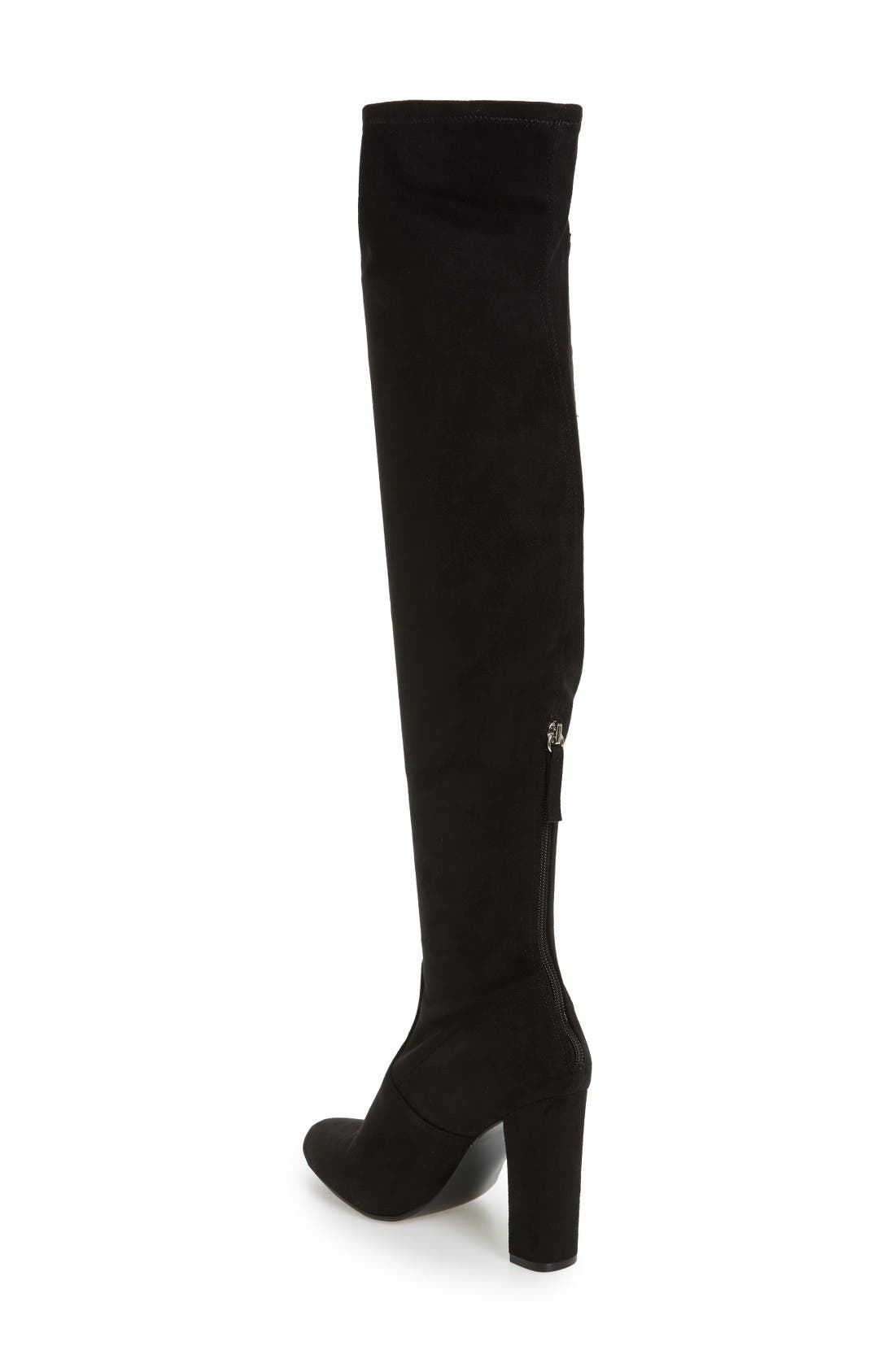 Alternate Image 2  - Steve Madden Envoke Over the Knee Stretch Boot (Women)