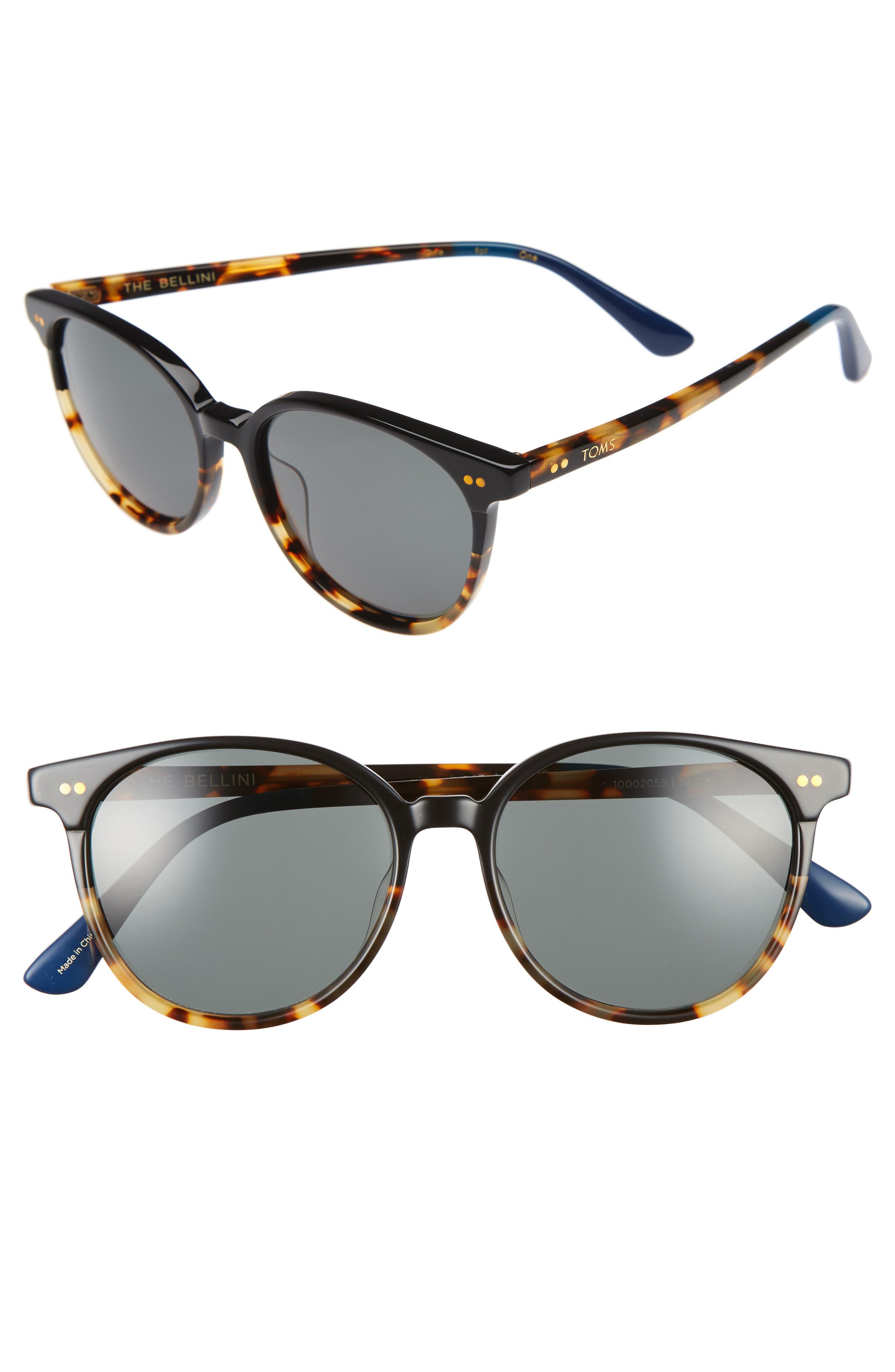 TOMS Bellini 52mm Sunglasses