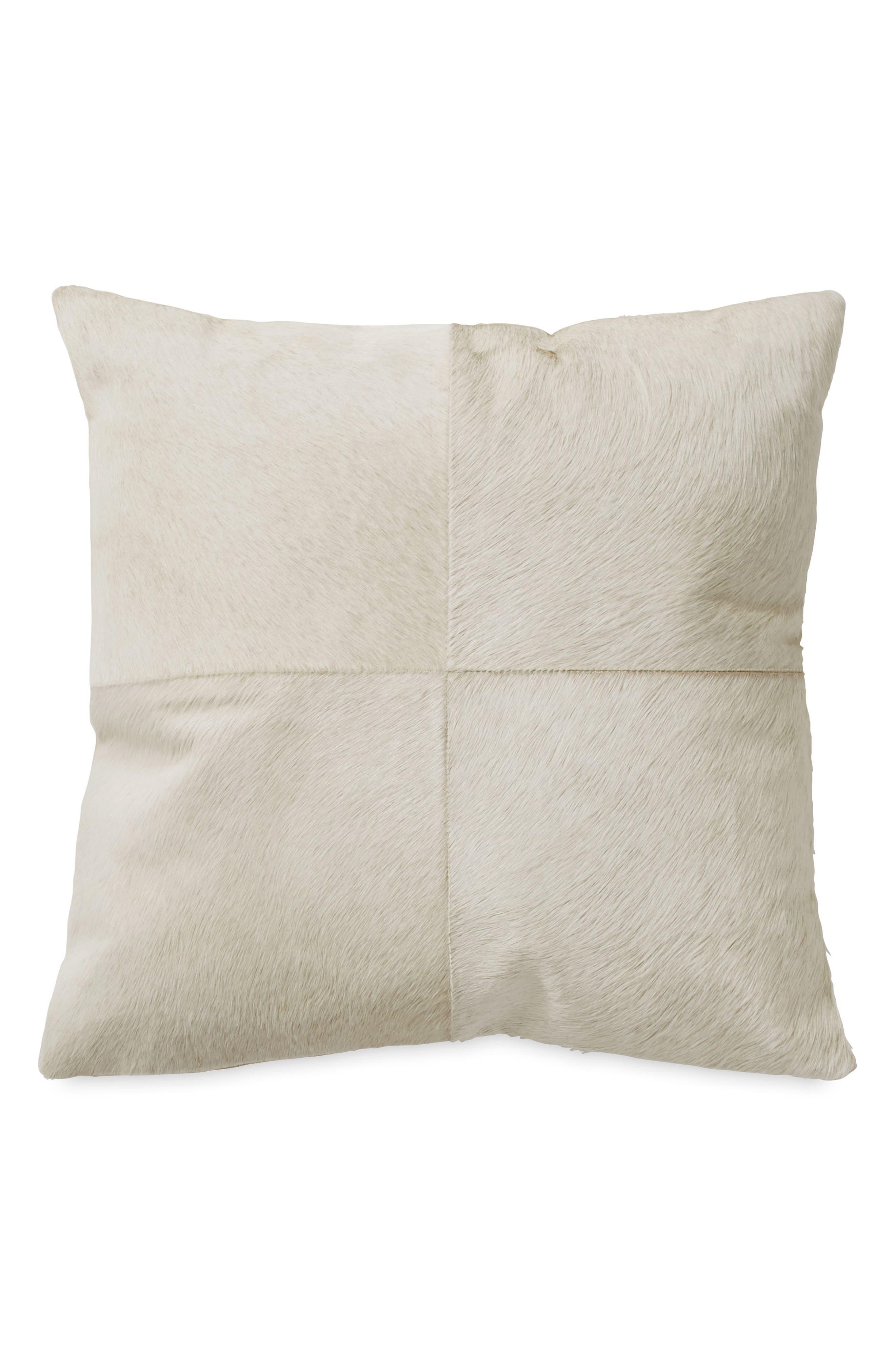 Alternate Image 1 Selected - Donna Karan New York Exhale Genuine Calf Hair Pillow