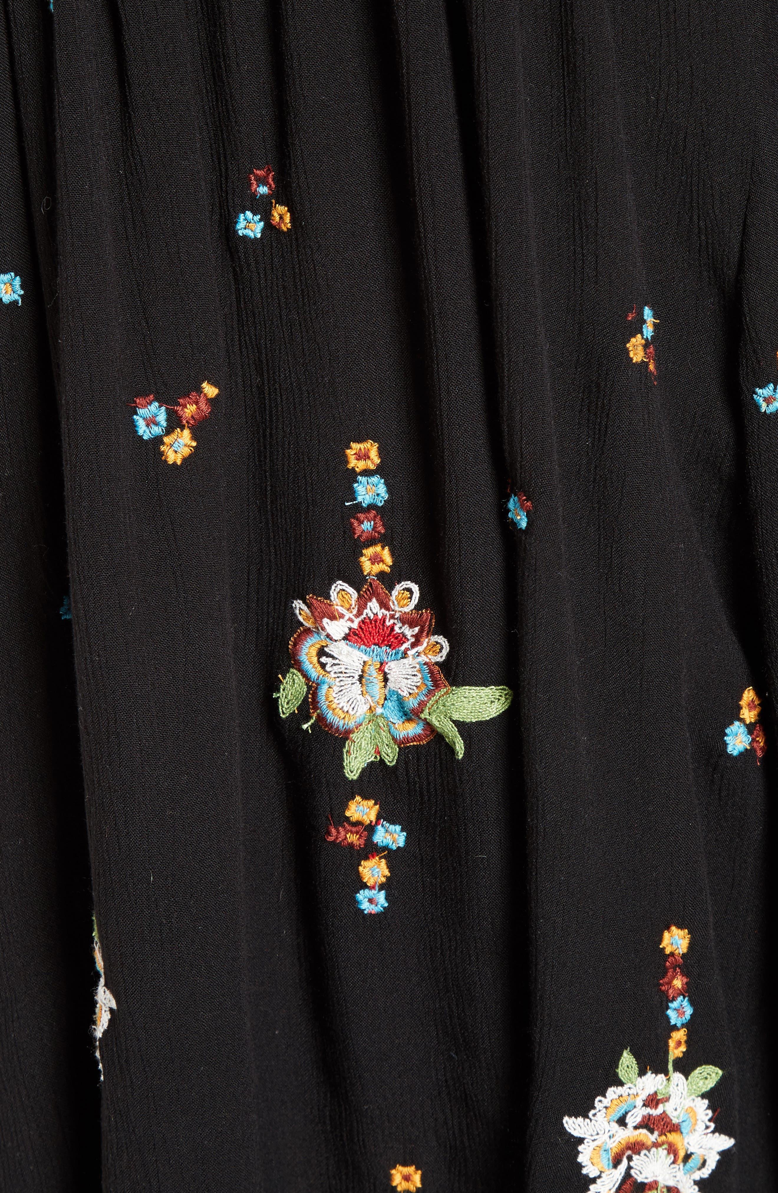 Alternate Image 6  - Free People Embroidered Minidress