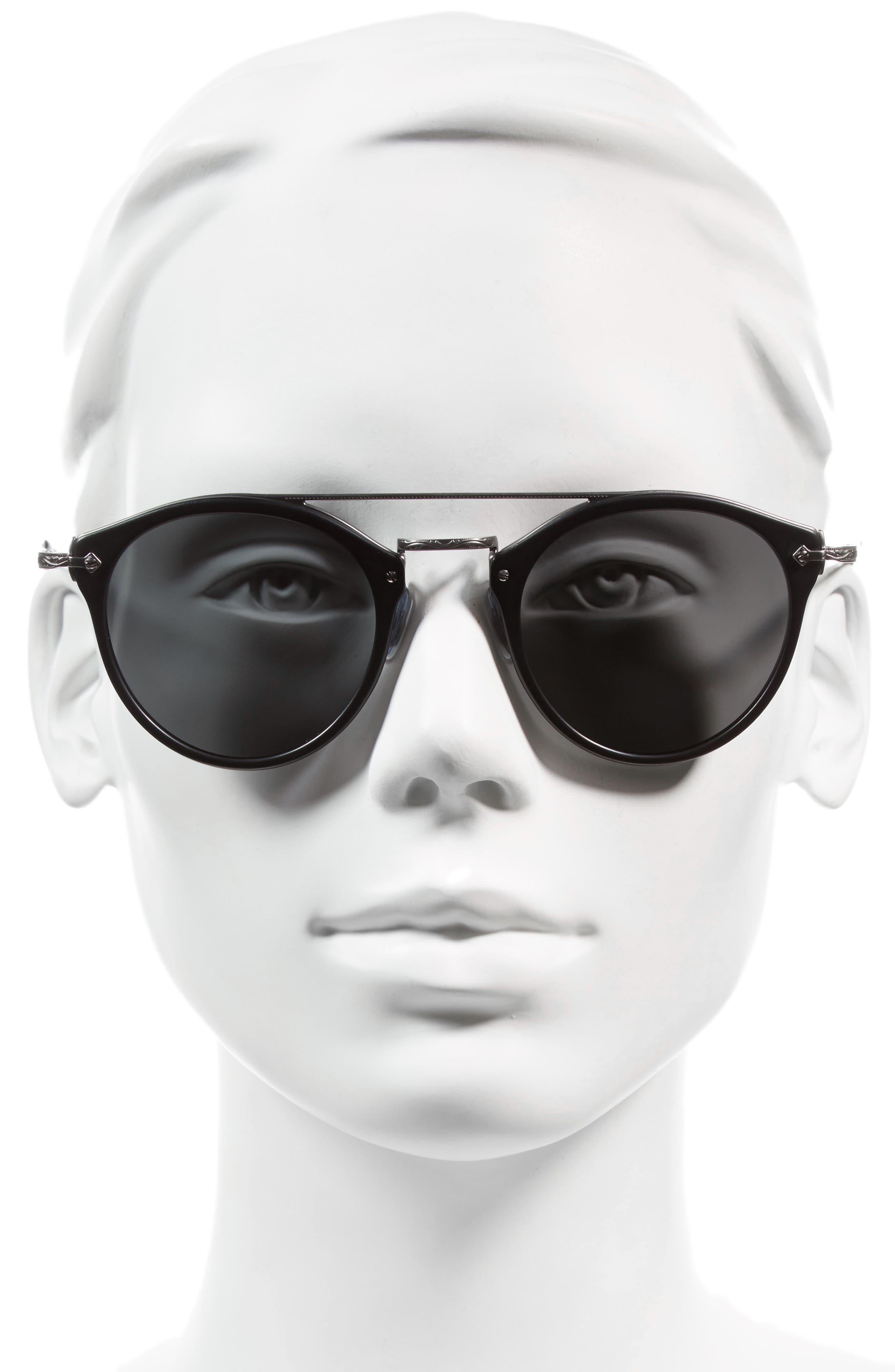 Alternate Image 2  - Oliver Peoples Remick 50mm Brow Bar Sunglasses