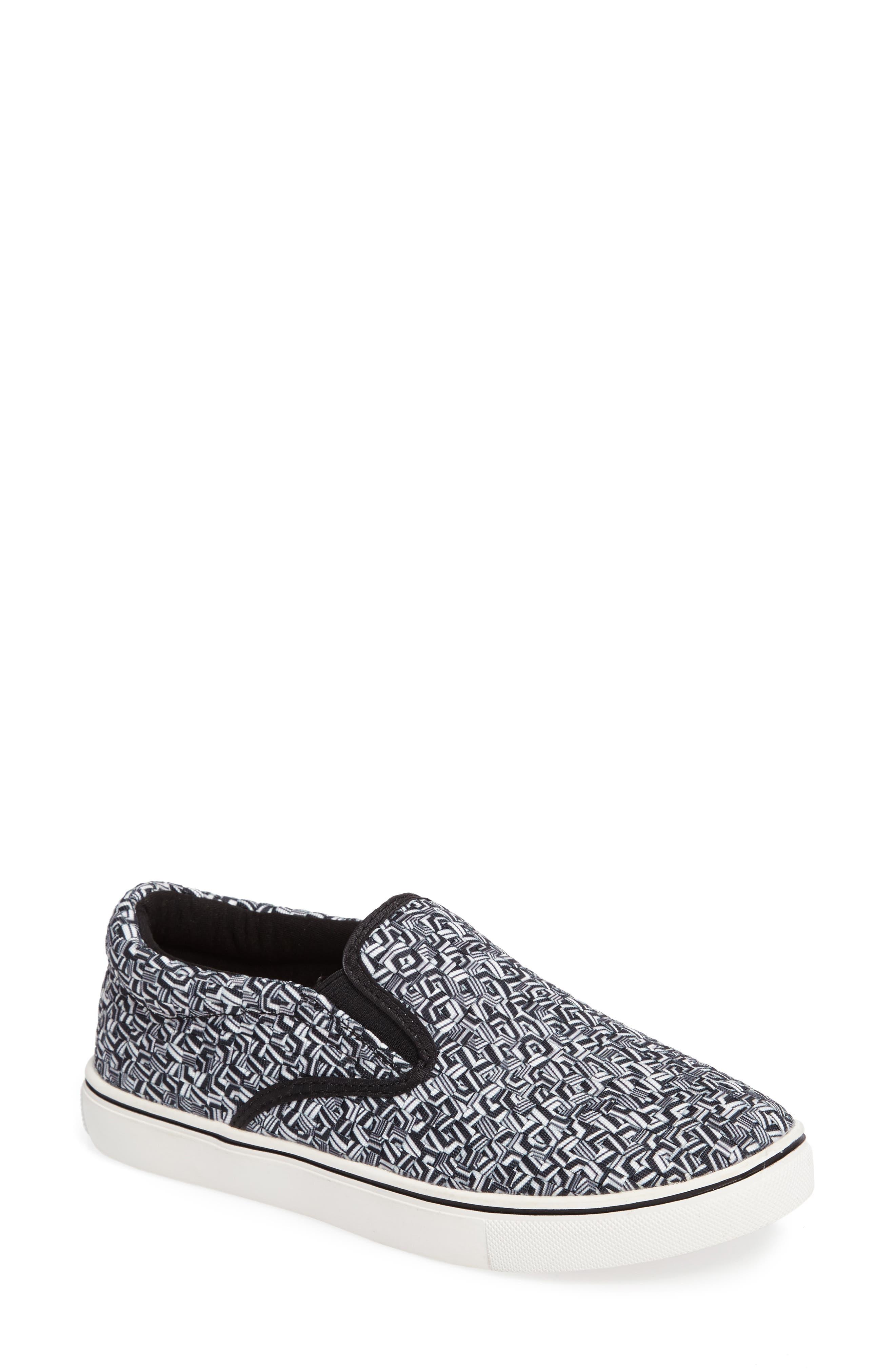 'Verona' Slip-On Sneaker,                             Main thumbnail 1, color,                             Marble Fabric