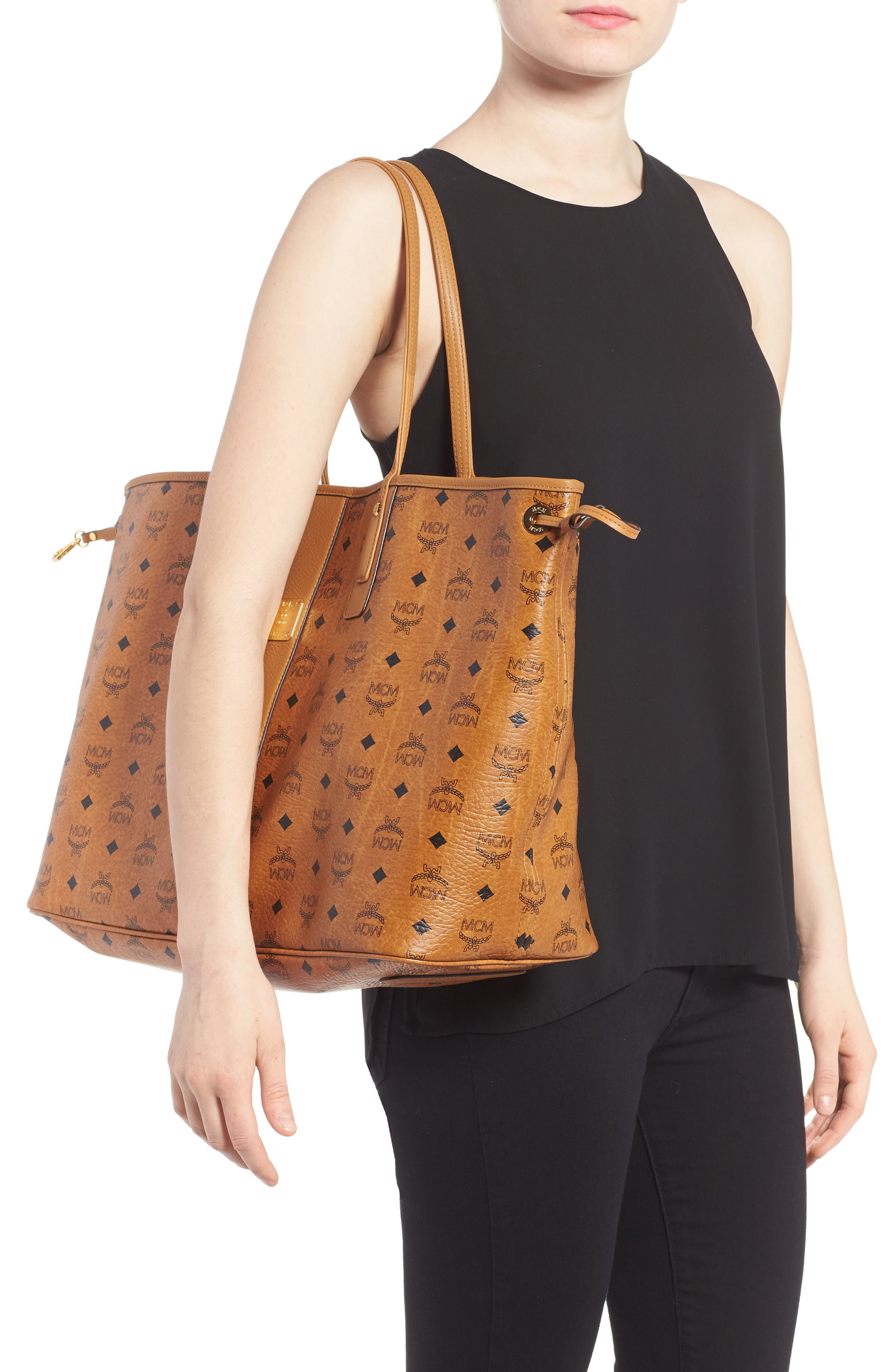 Alternate Image 2  - MCM 'Large Liz' Reversible Shopper