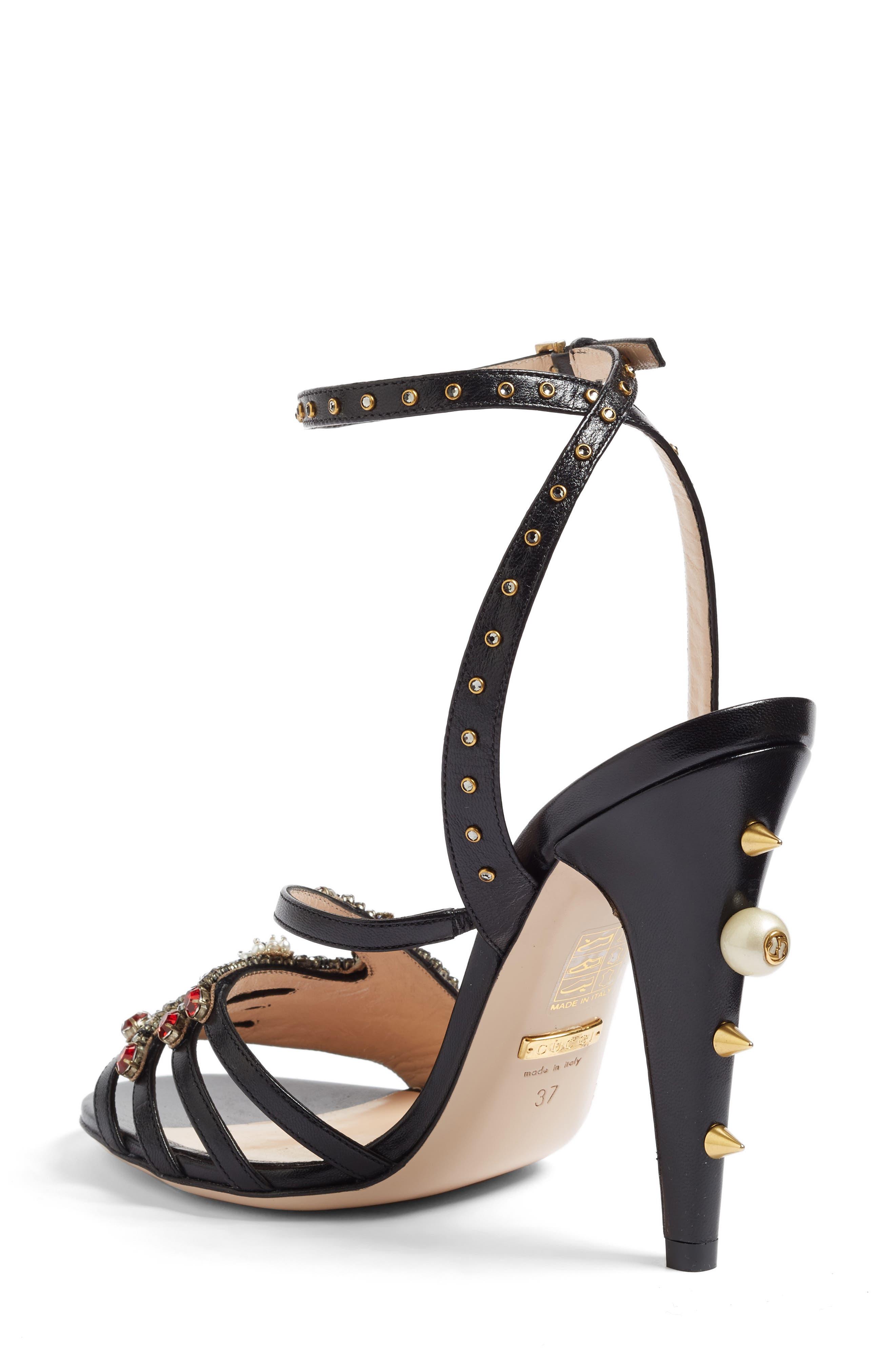 Alternate Image 2  - Gucci Strappy Sandal (Women)