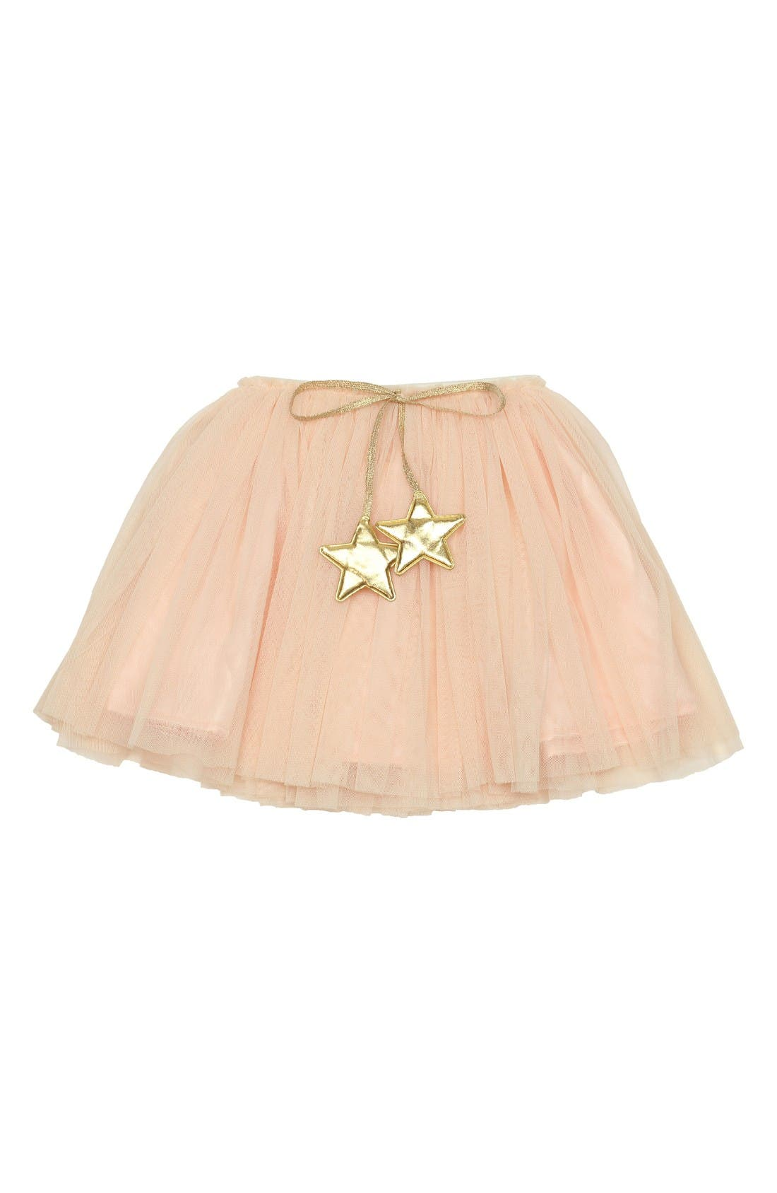 Alternate Image 1 Selected - Popatu Gold Star Tutu Skirt (Toddler Girls & Little Girls)