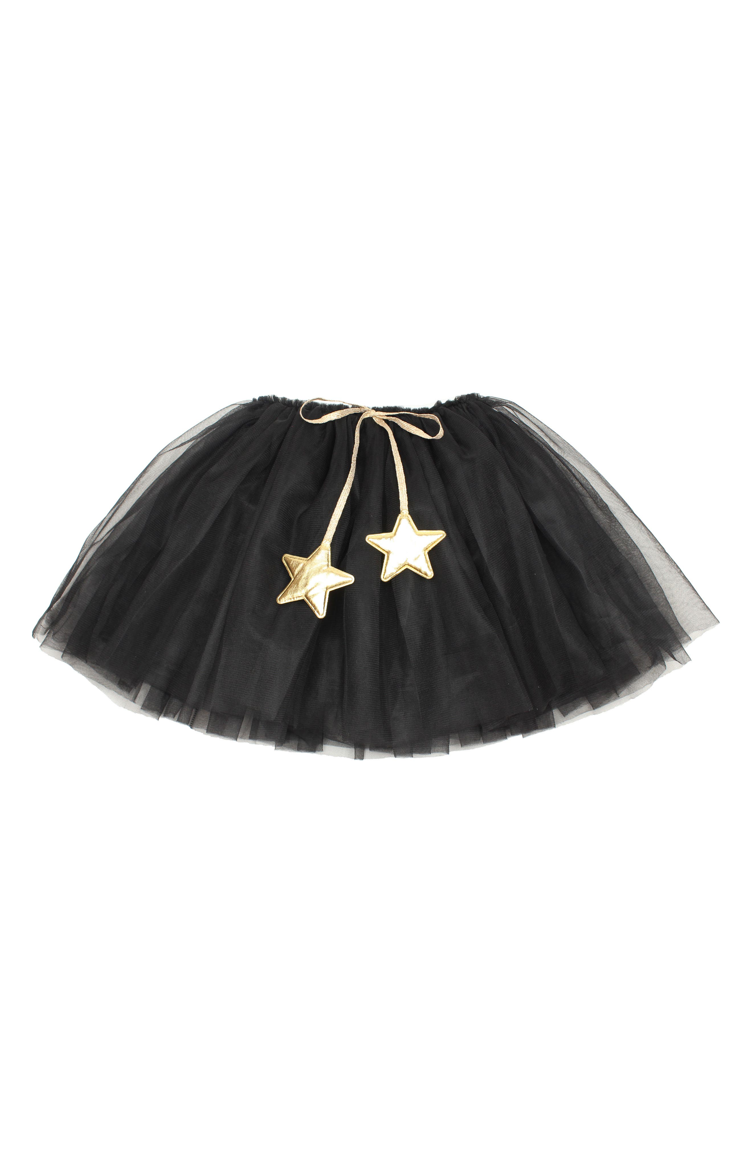 Main Image - Popatu Gold Star Tutu Skirt (Toddler Girls & Little Girls)