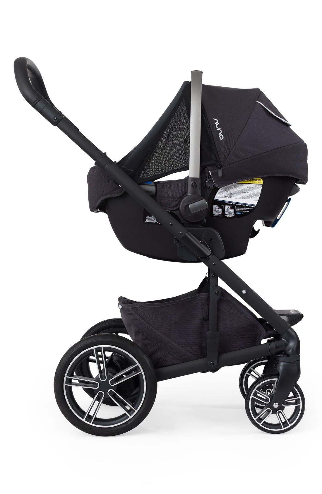 Alternate Image 9  - nuna MIXX™ Stroller System & PIPA™ Car Seat Set