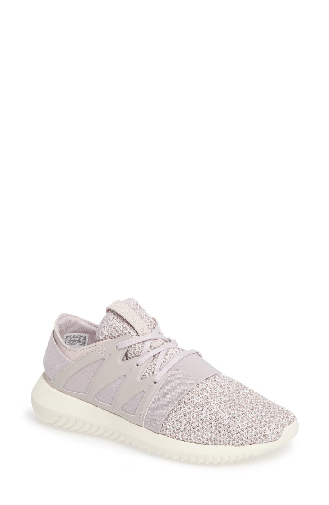 Alternate Image 1 Selected - adidas Tubular Viral Knit Sneaker (Women)