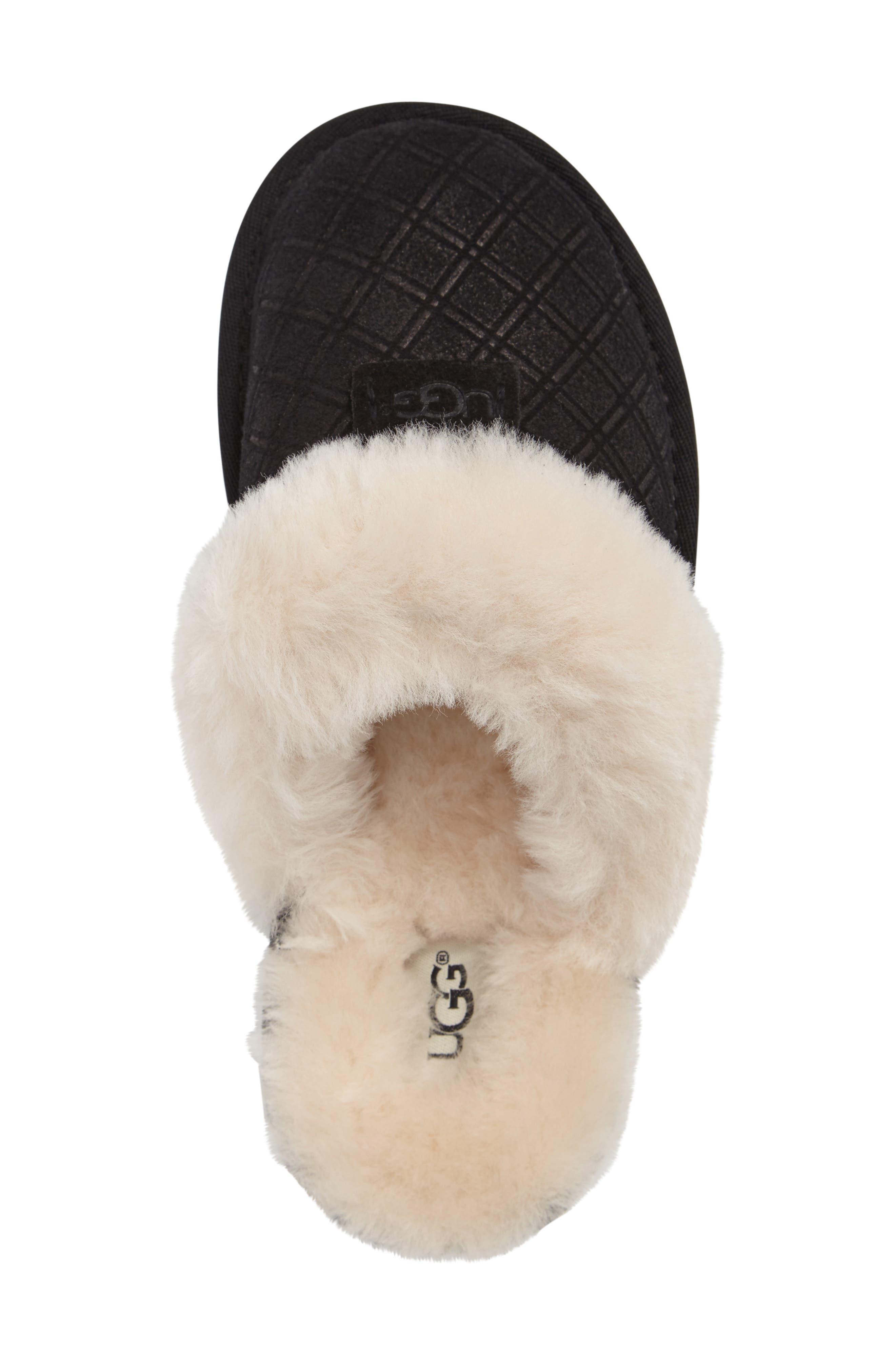 Alternate Image 3  - UGG® Cozy Genuine Shearling Slipper (Women)