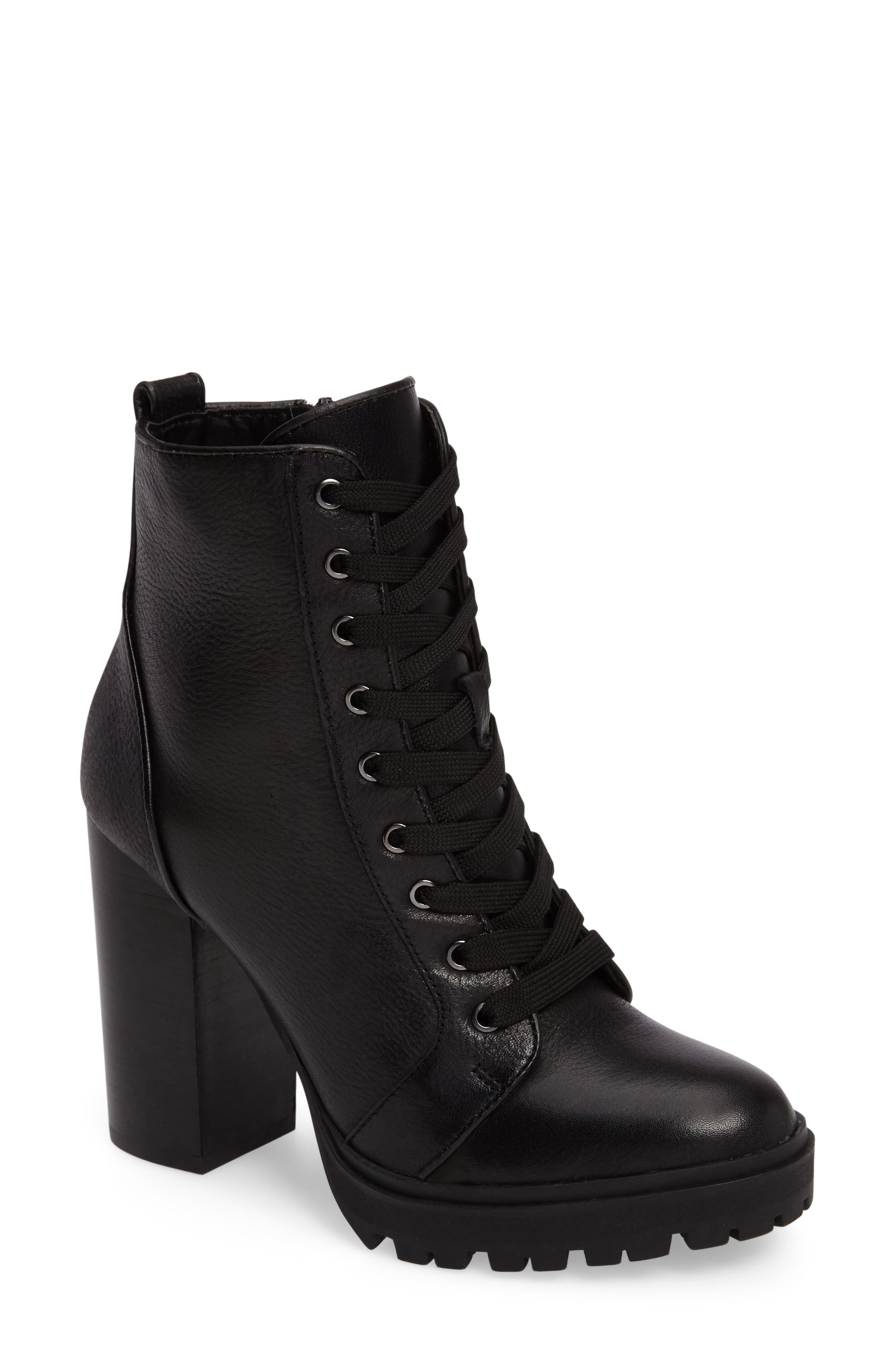 Women's Lace Up Ankle Boots & Booties | Nordstrom