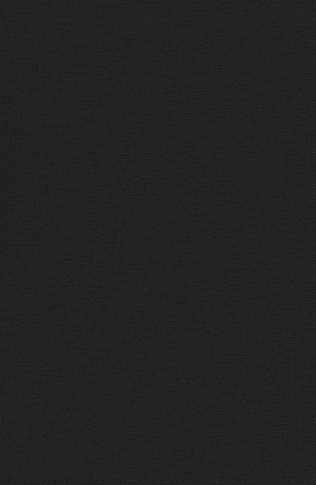 Alternate Image 5  - Classiques Entier® Ponte Knit V-Neck Sheath Dress (Regular & Petite)