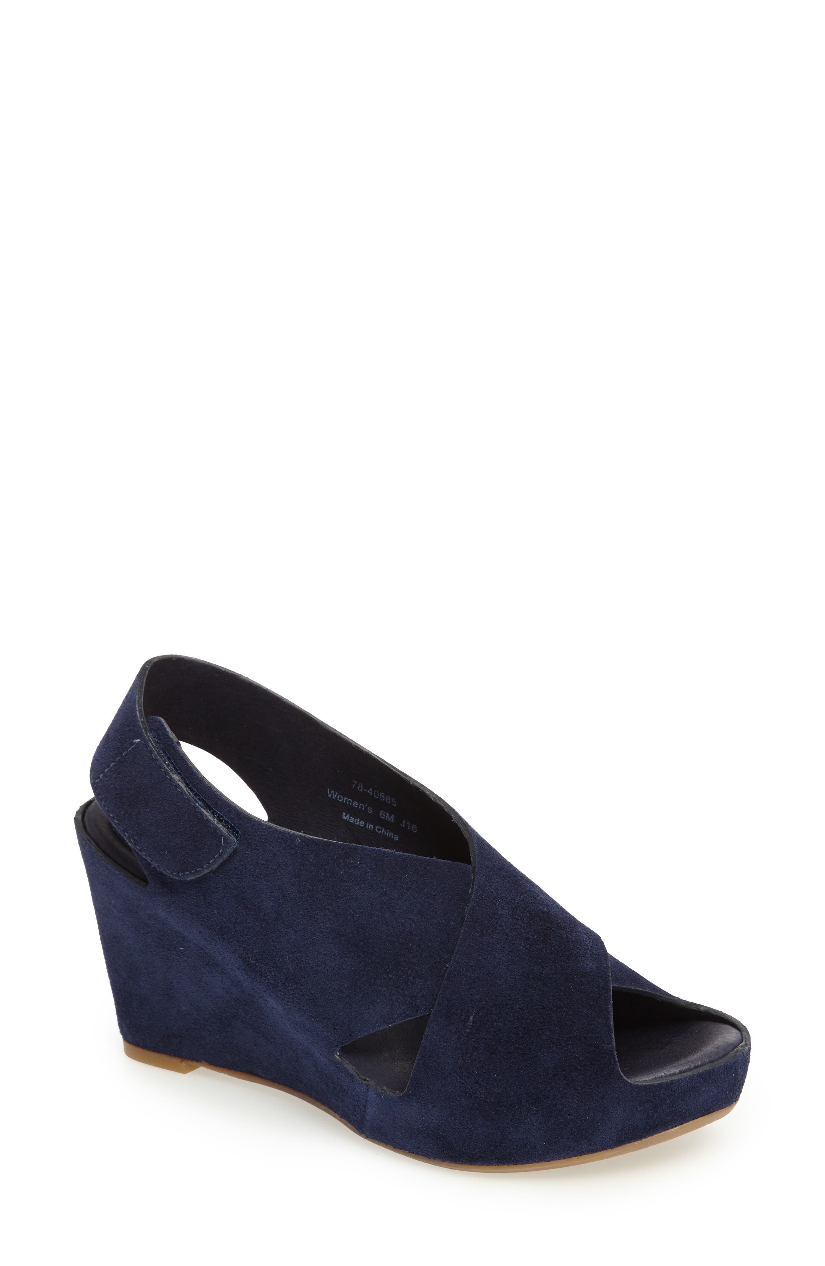 Johnston & Murphy 'Tori' Wedge Sandal (Women)