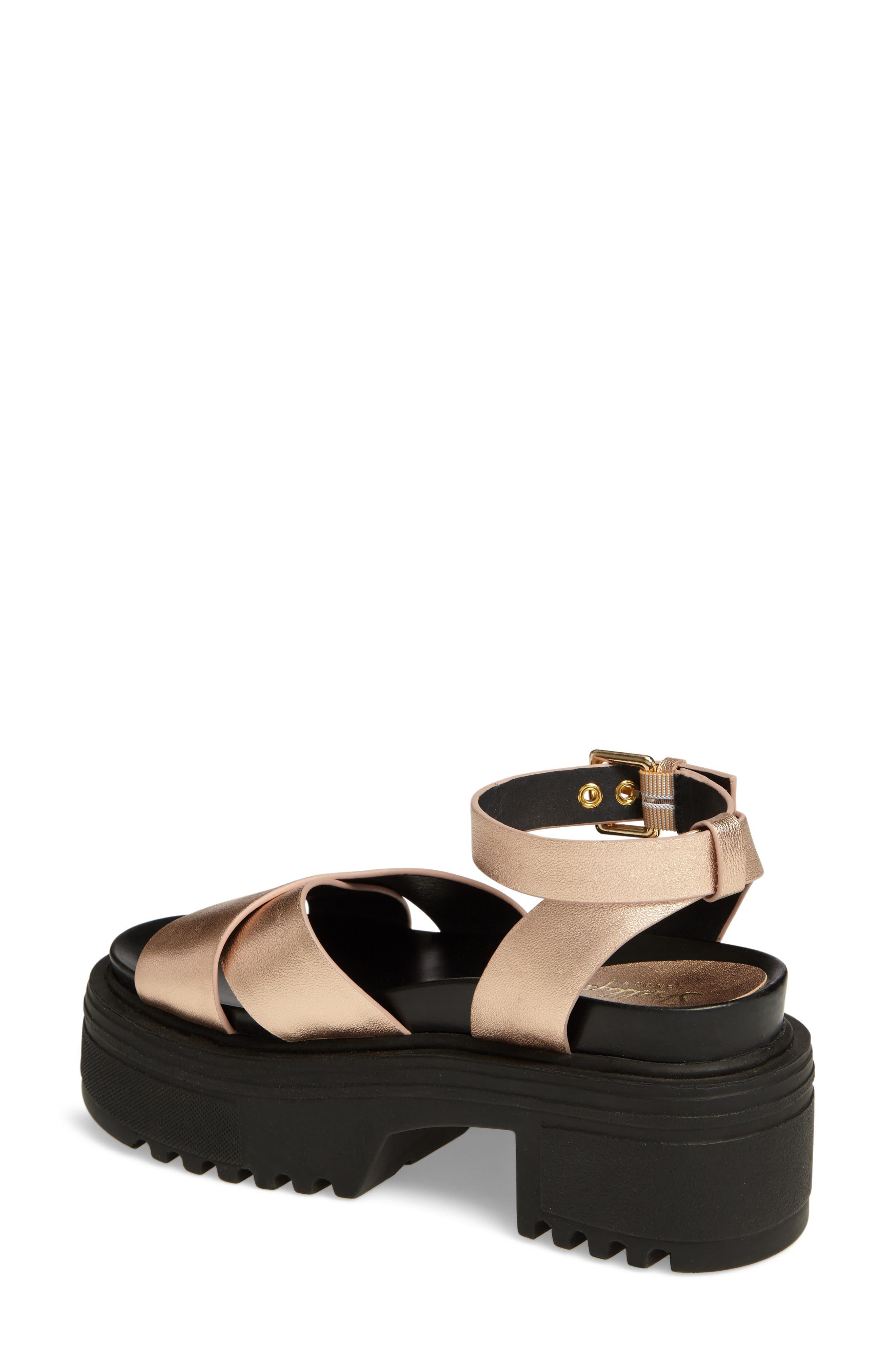 Alternate Image 2  - Shellys London Ankle Strap Platform Sandal (Women)