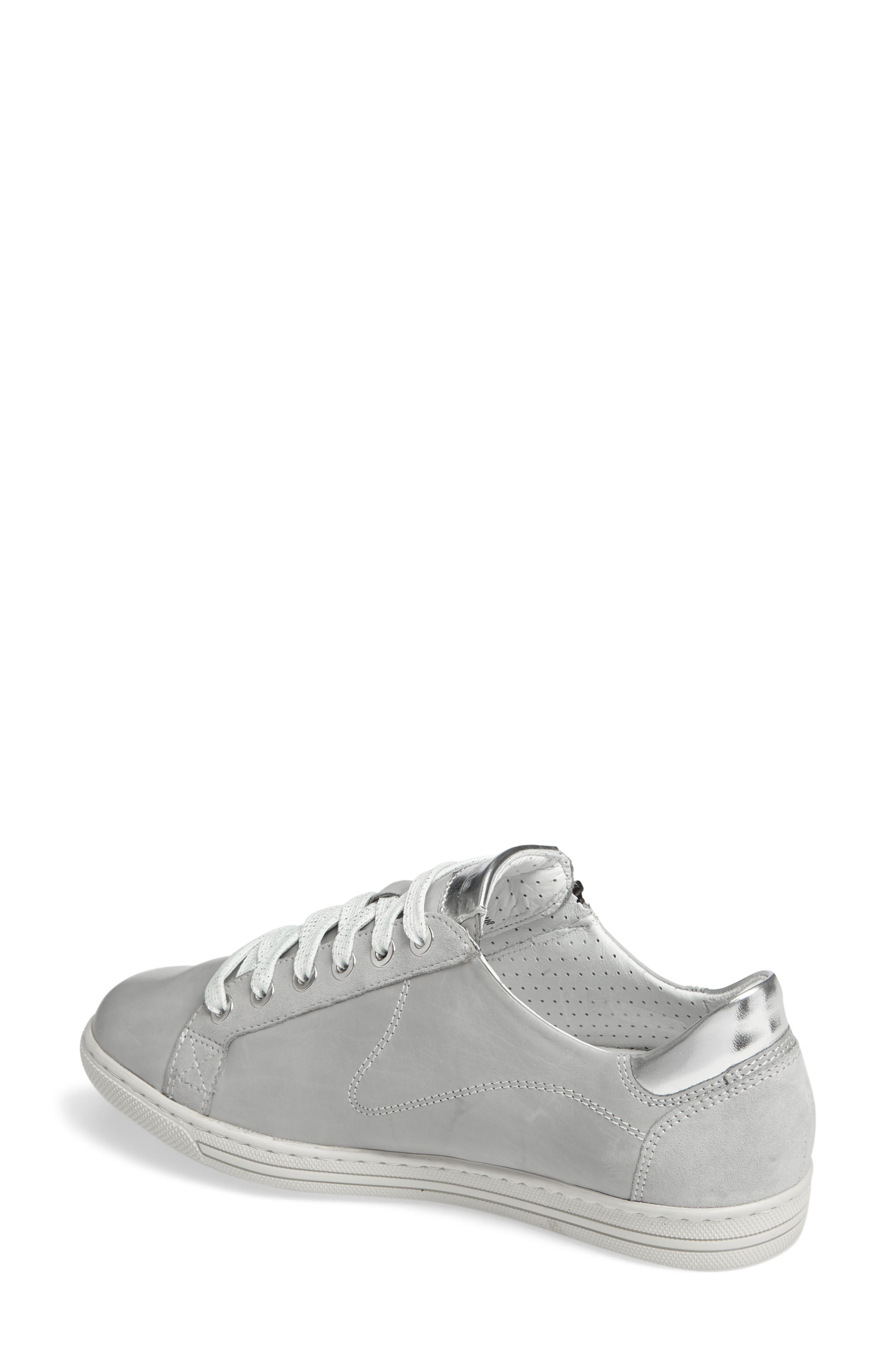 Hawai Sneaker,                             Alternate thumbnail 2, color,                             Light Grey Calfskin Leather