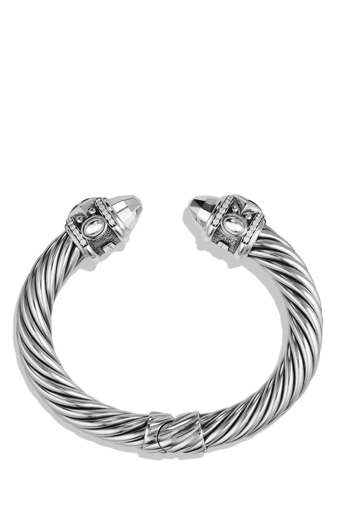 Alternate Image 2  - David Yurman 'Renaissance' Bracelet with Black Diamonds